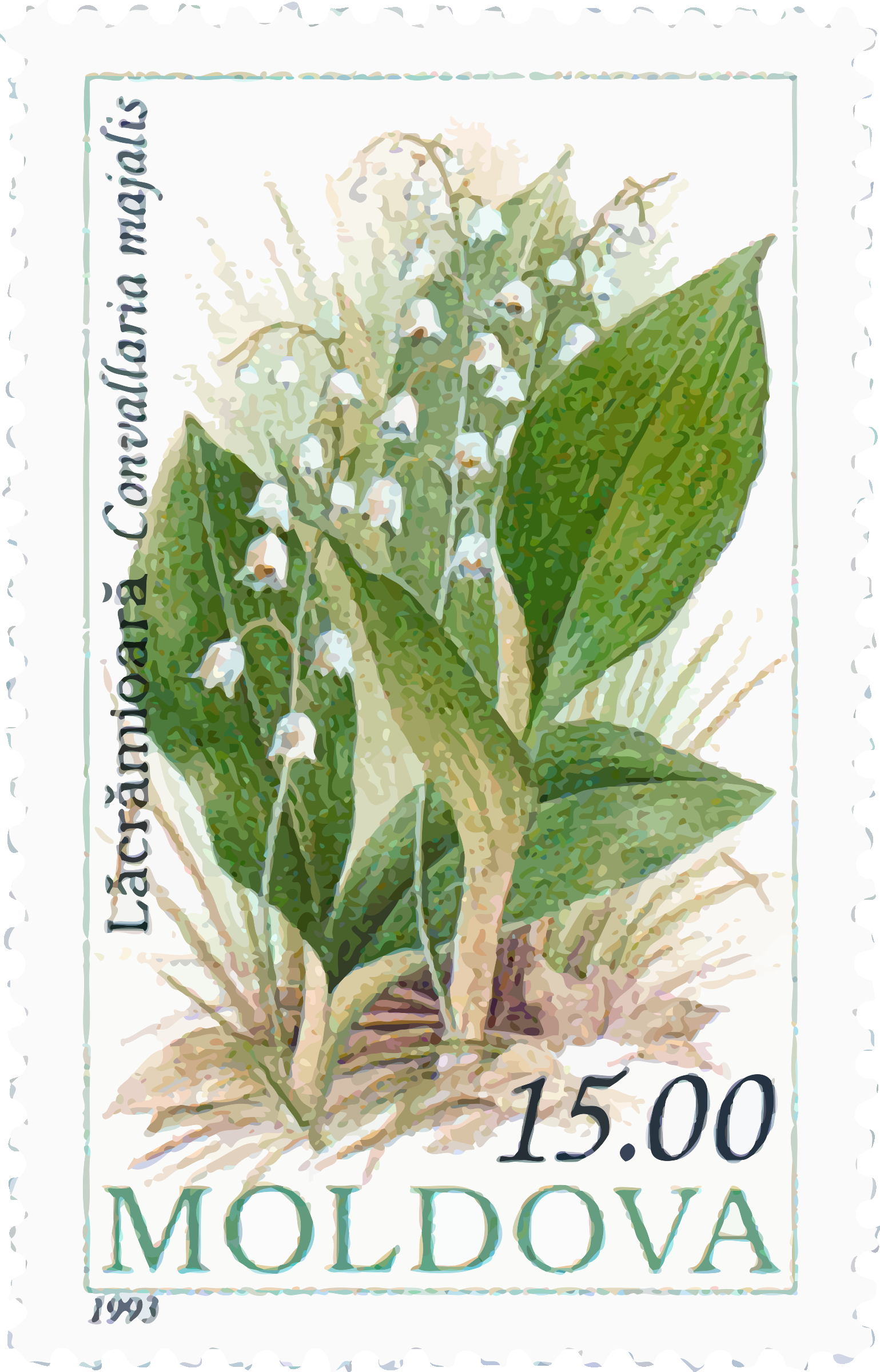 Moldova stamp by Firkin