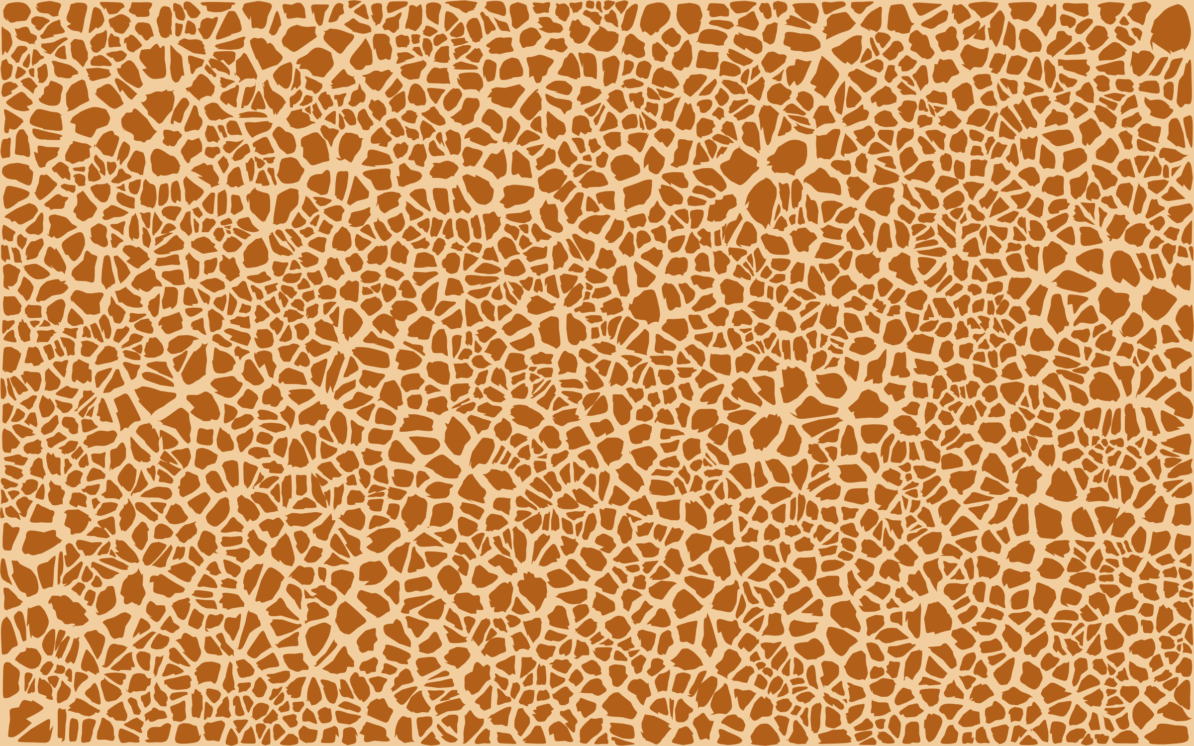 Giraffe Skin Pattern Design by GDJ
