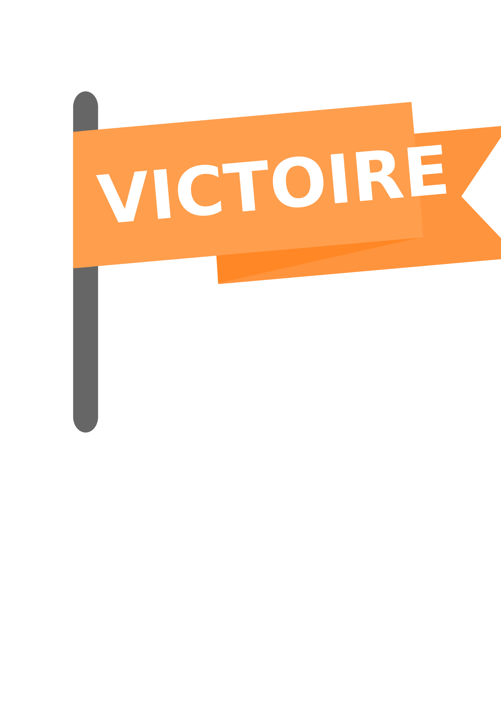 Drapeau victoire / Victory win flag by ElodieVentura