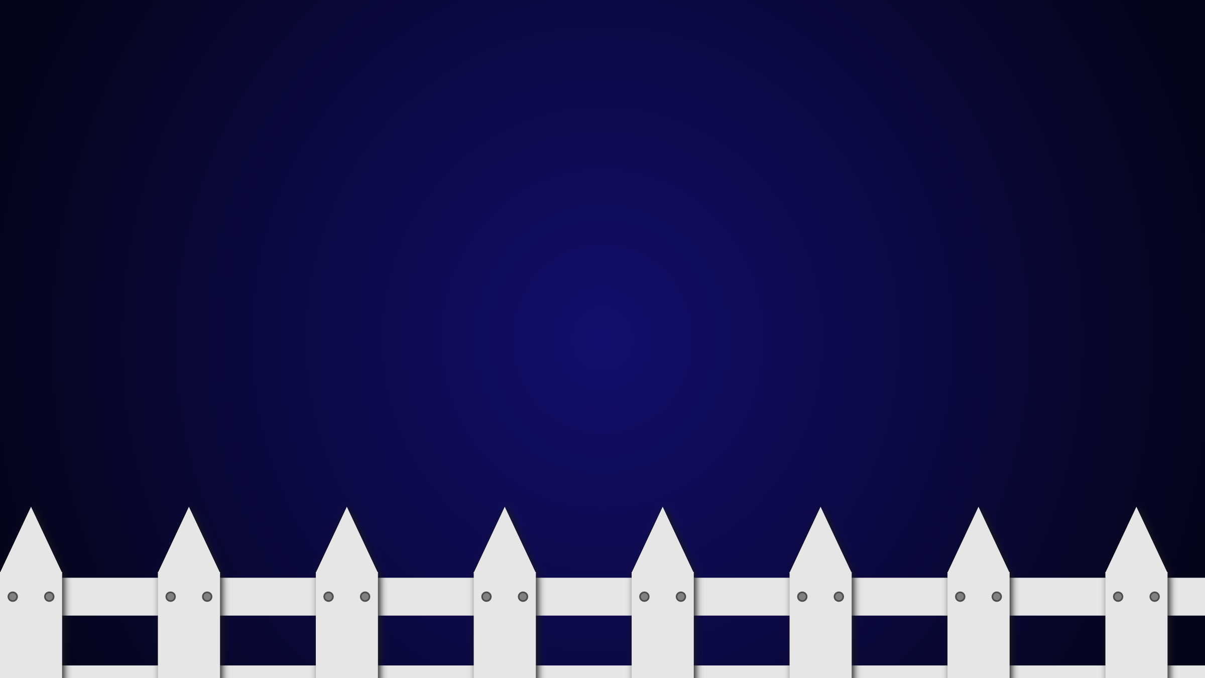 fence in the night without the branch by talekids