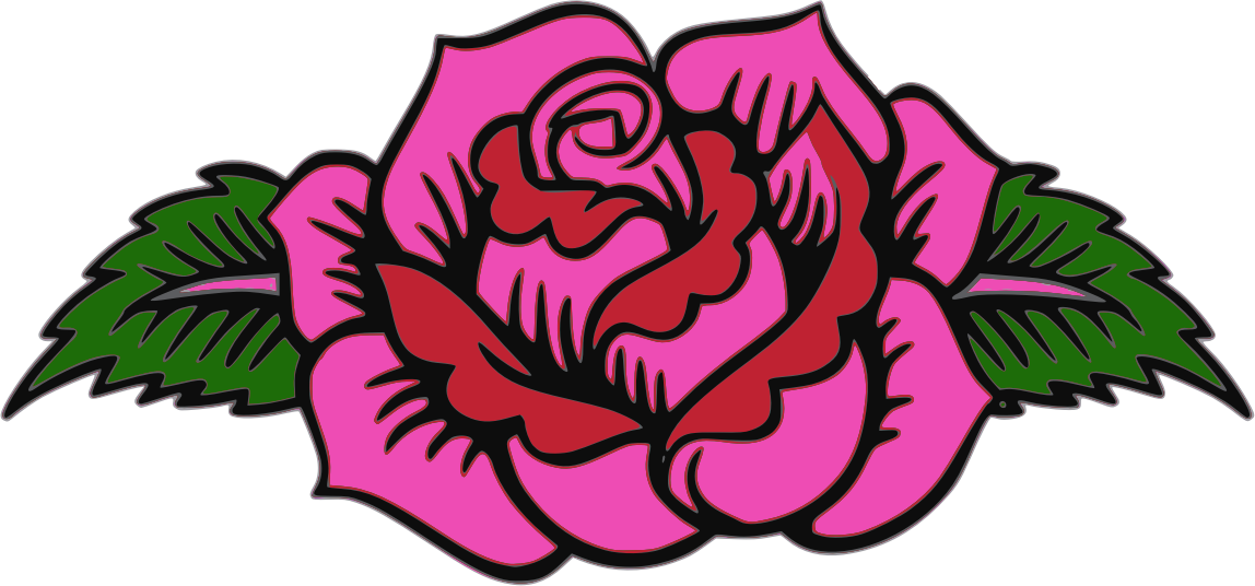 Pink rose by Firkin