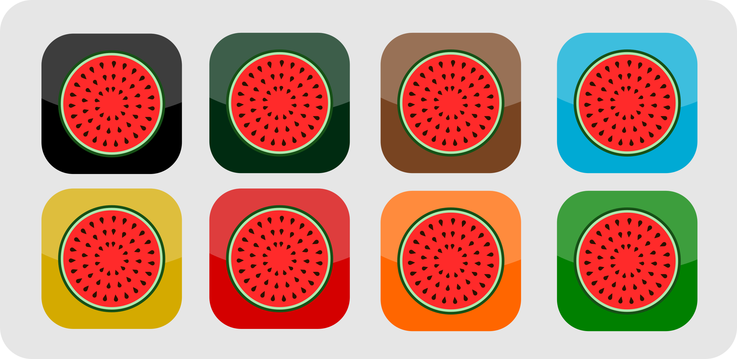 Melon Icons by Avasz