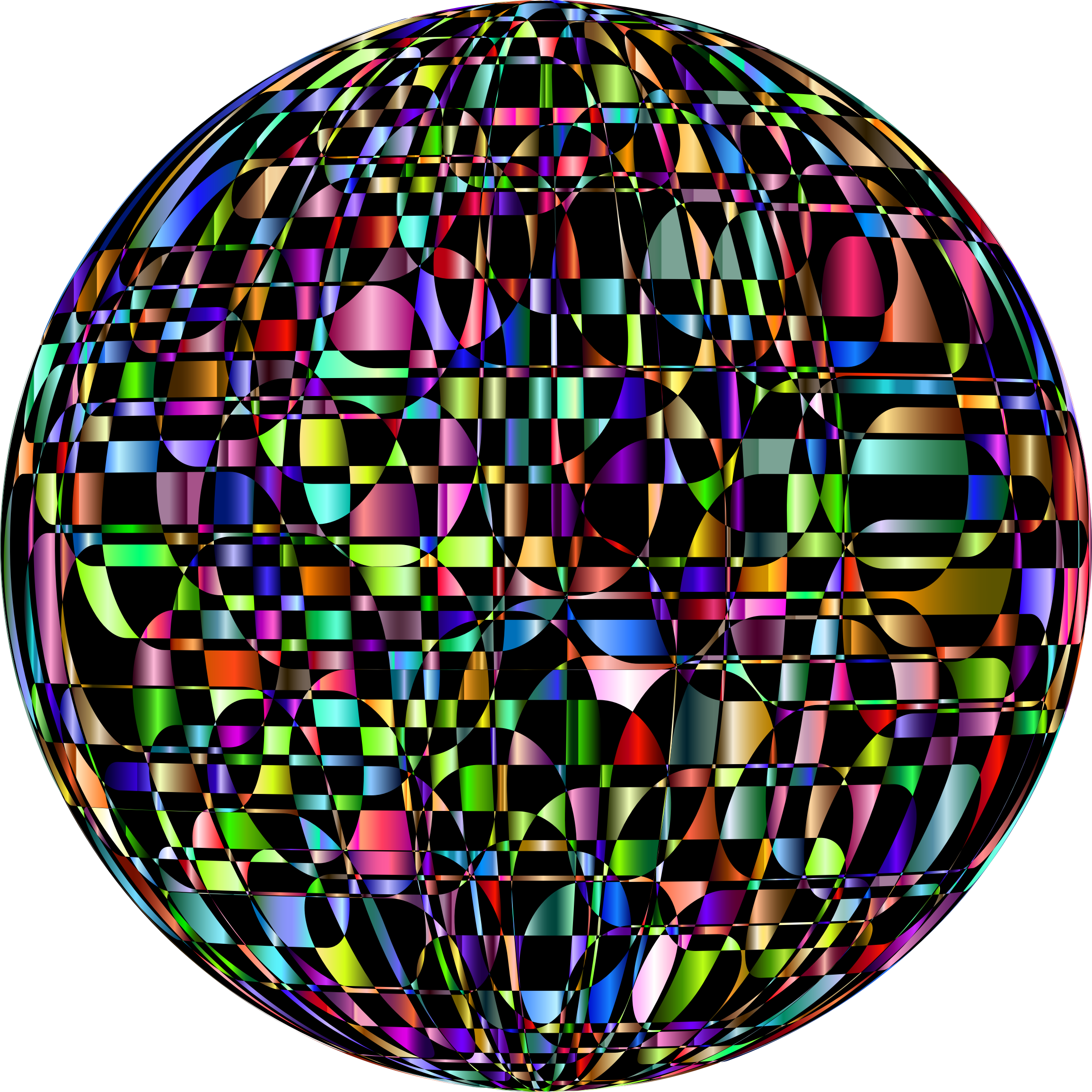 Abstract Chromatic Orb by GDJ