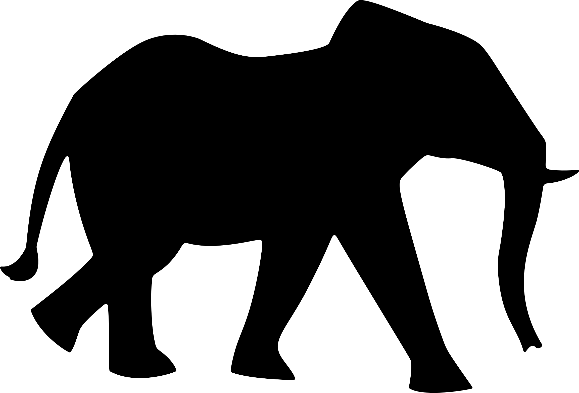 elephant silhouette 3