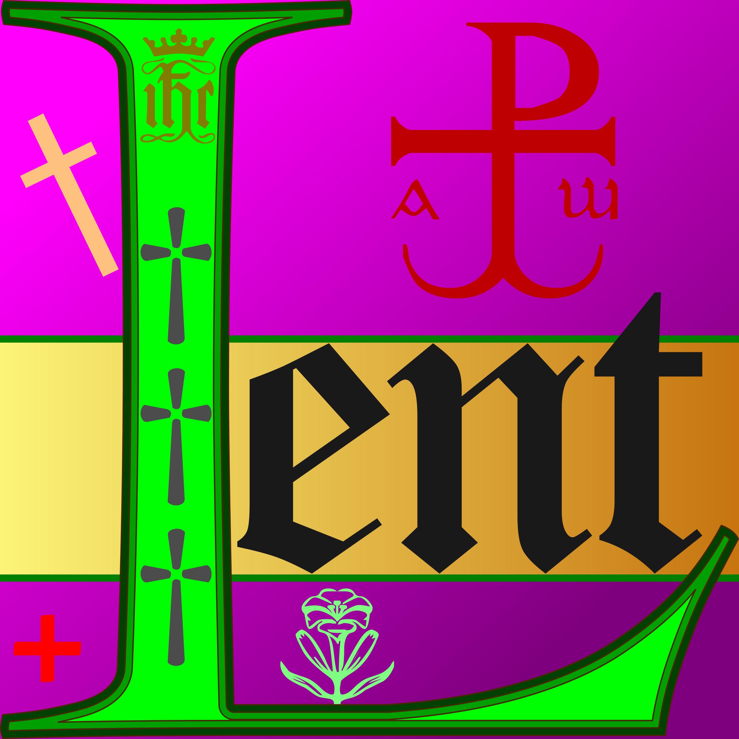 Clipart - Lent
