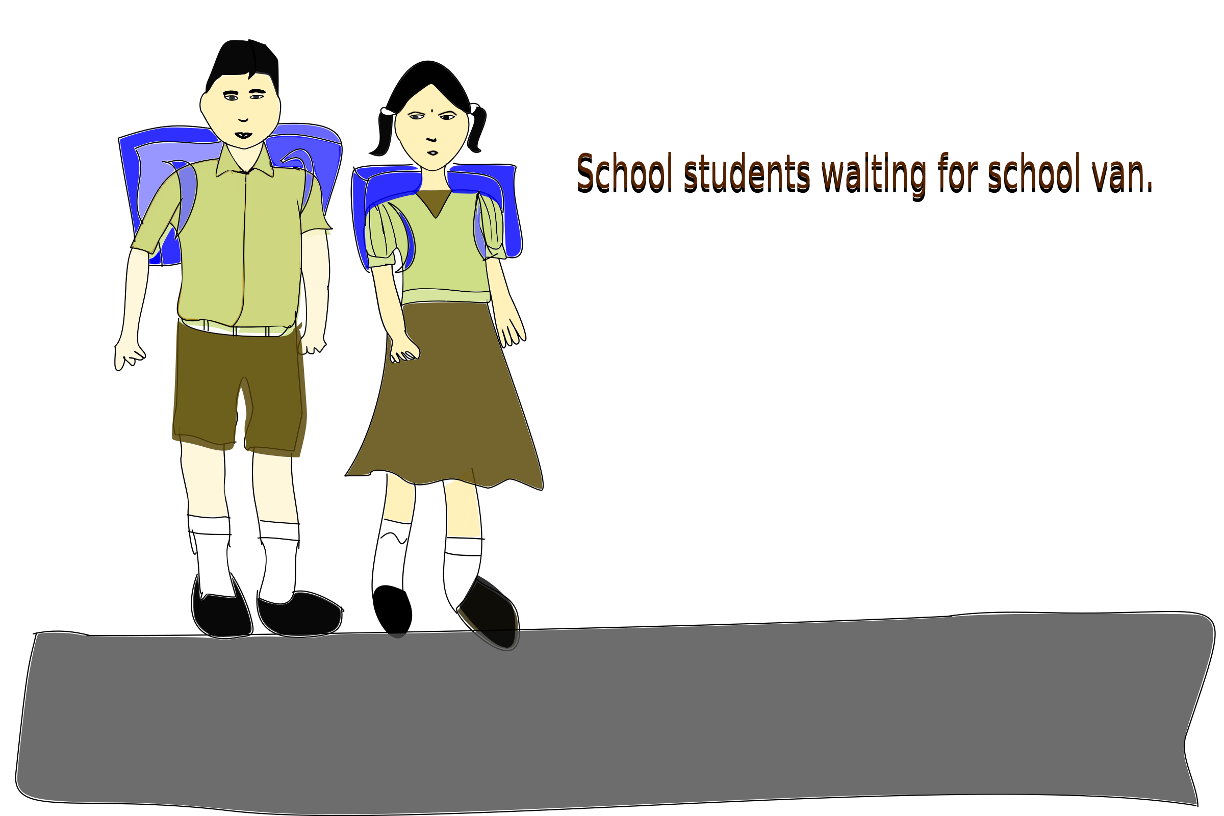 School Students by athithya