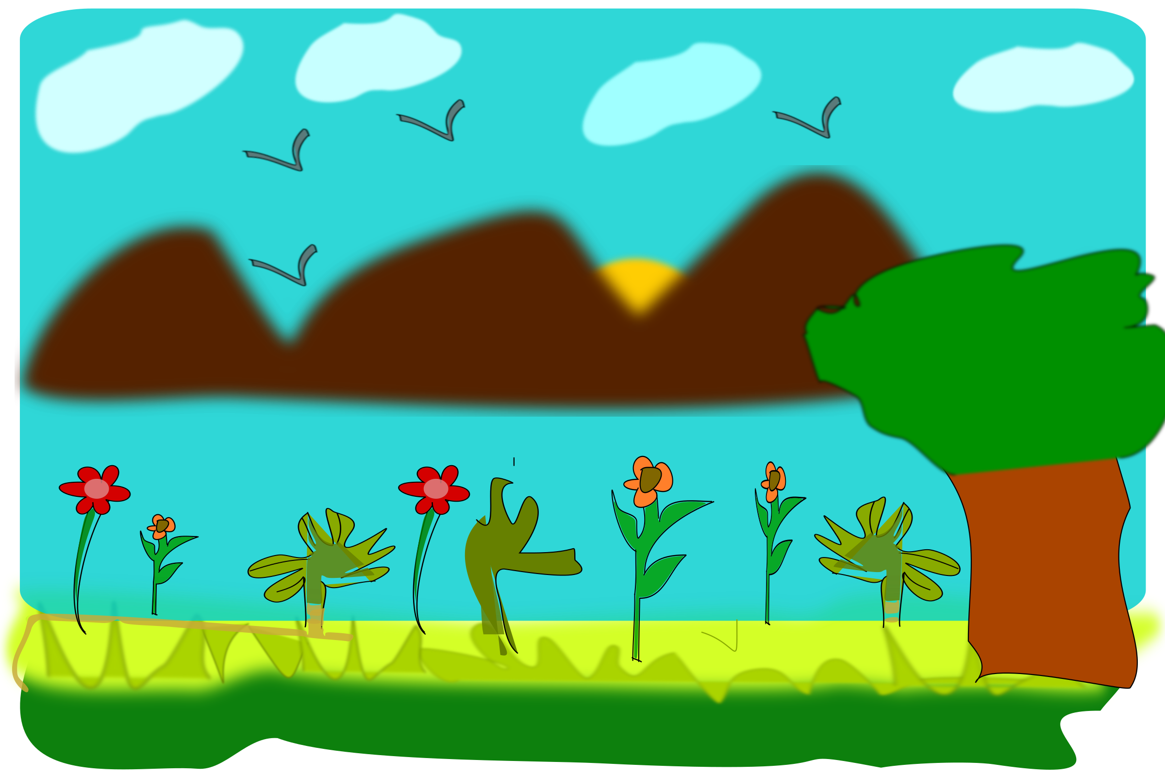 Scenery by athithya