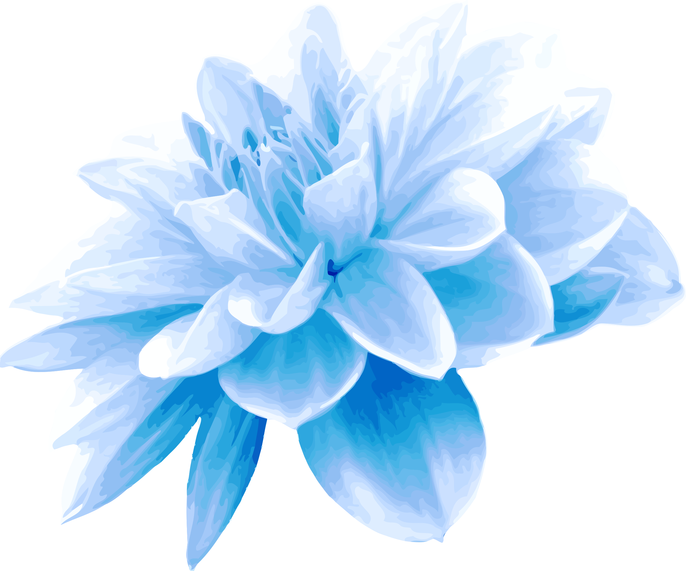 clipart  blue flower, Beautiful flower
