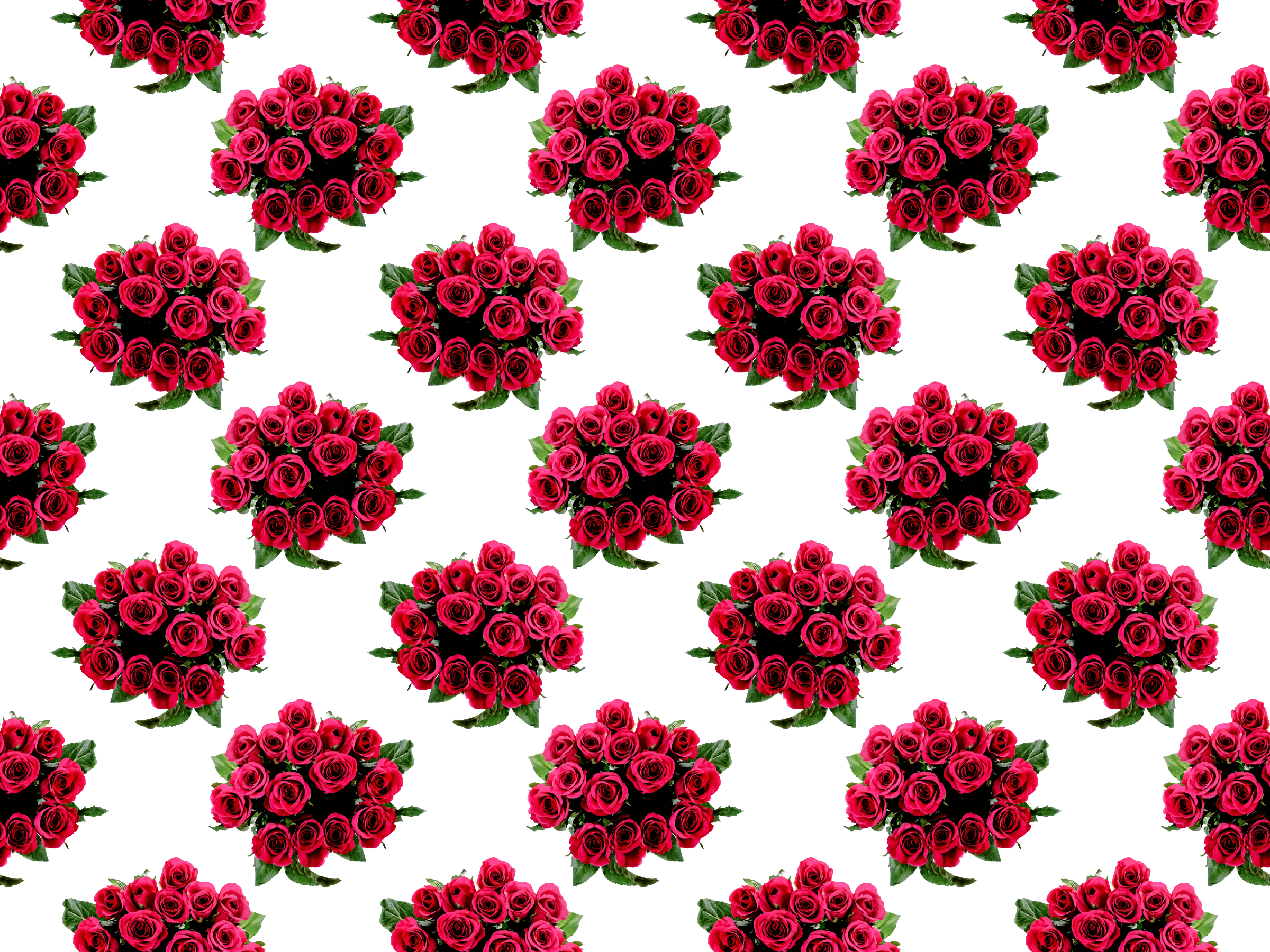 Roses pattern by Firkin