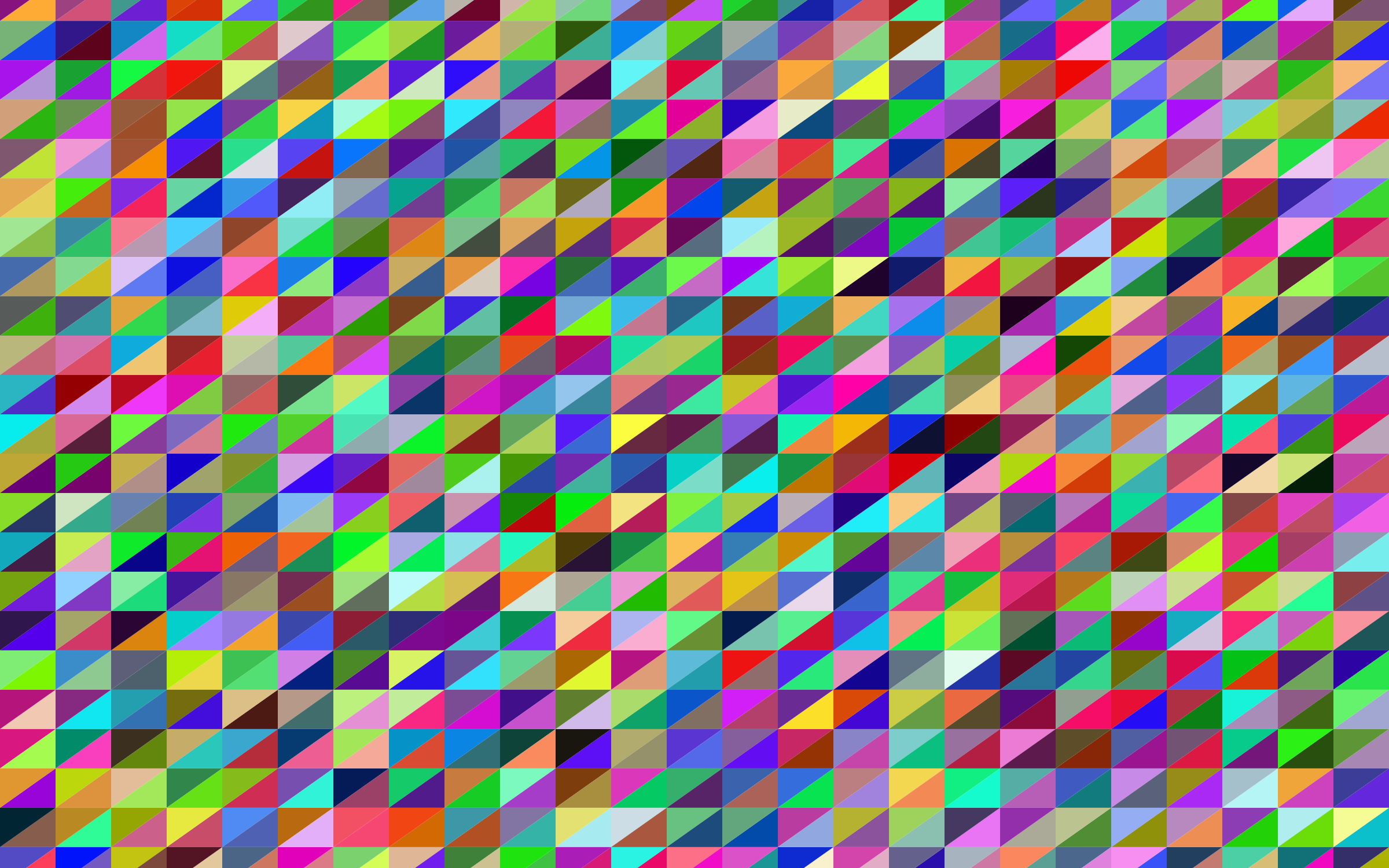Prismatic Triangular Background Design by GDJ