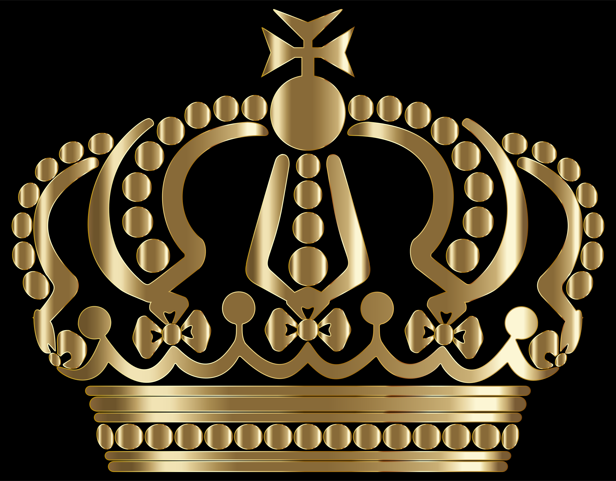 Clipart - Gold German Imperial Crown