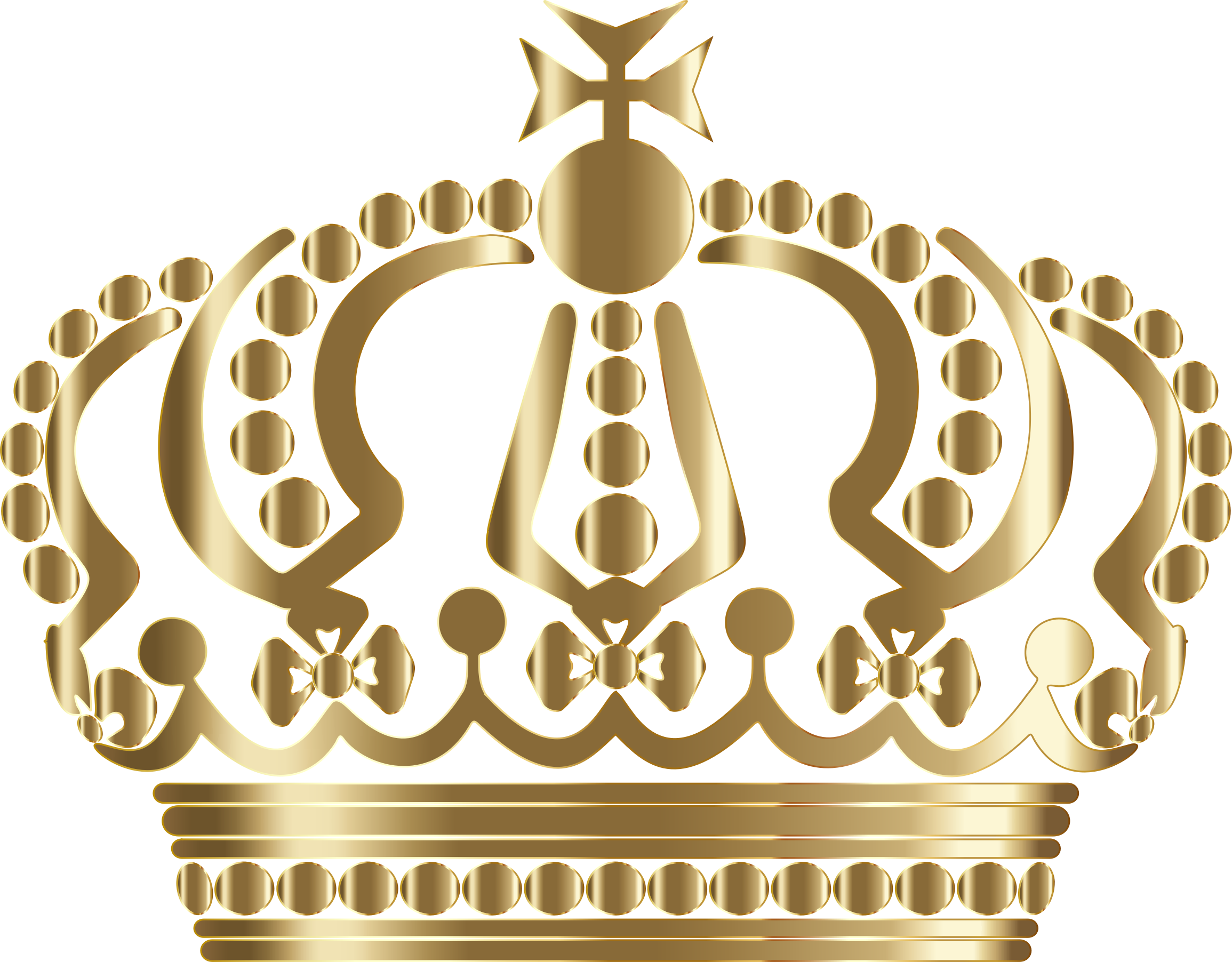 Gold German Imperial Crown No Background by GDJ