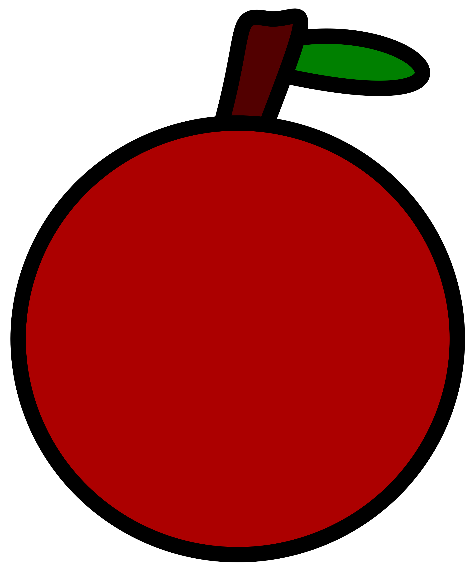 Very simple apple by laobc