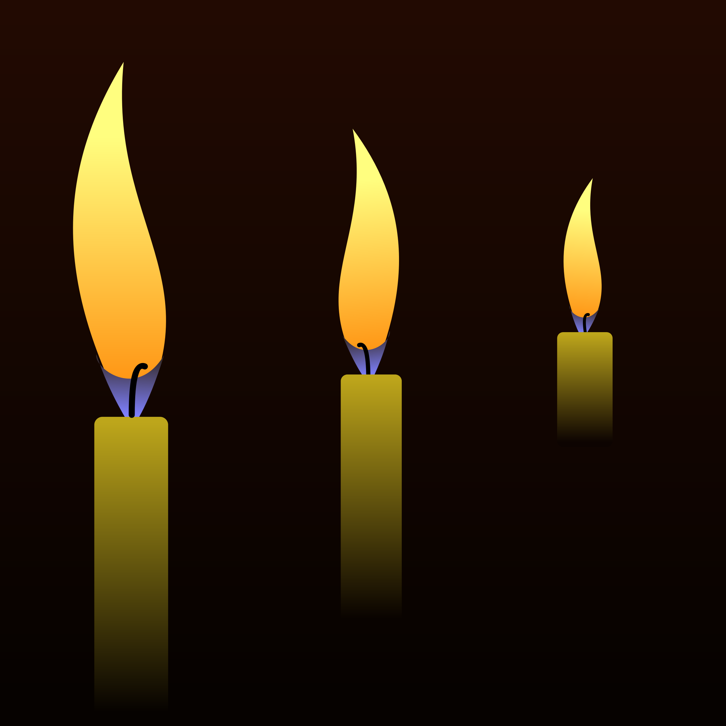Candles in the Night by PhilipBarrington