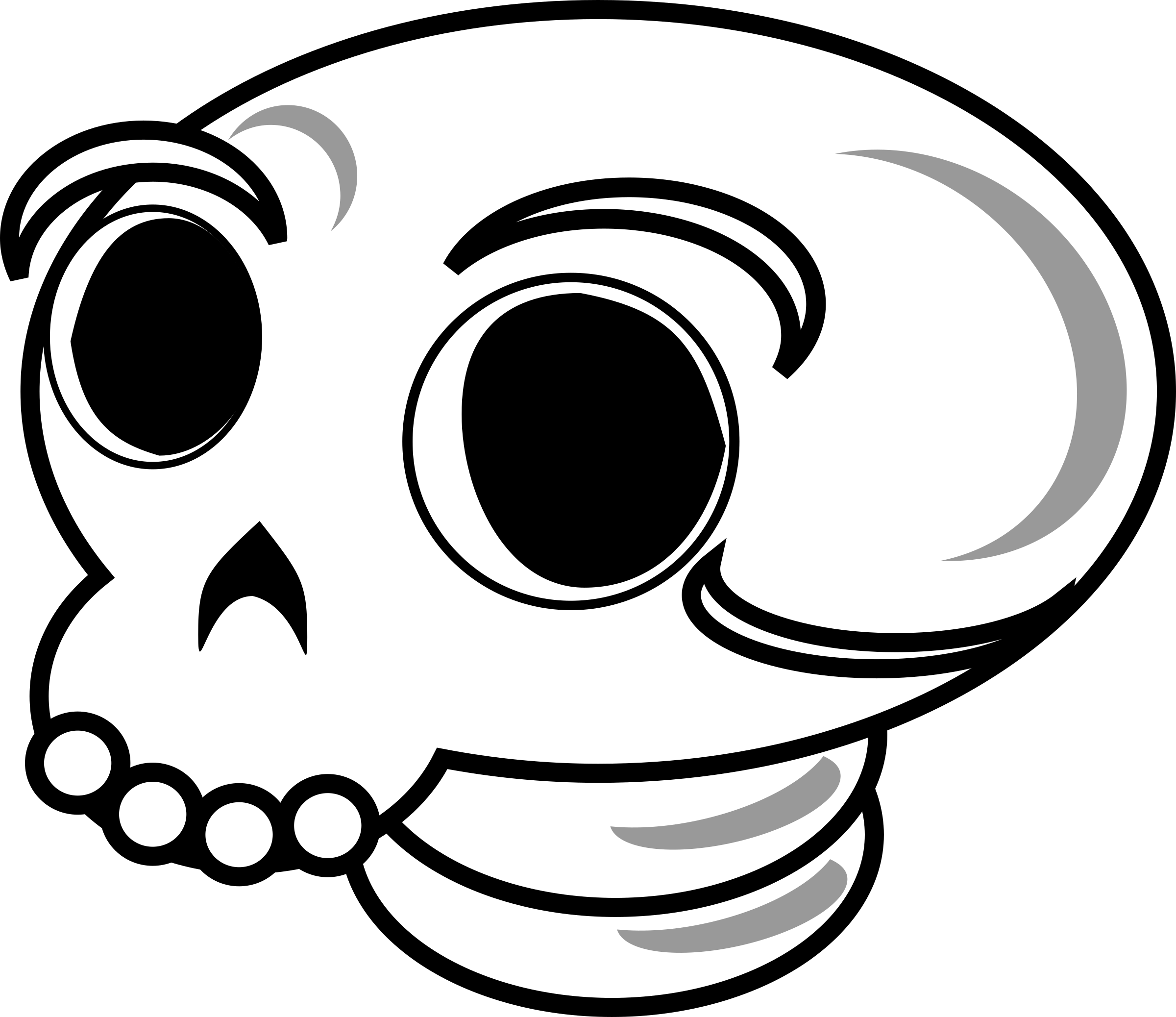 Skull by liftarn