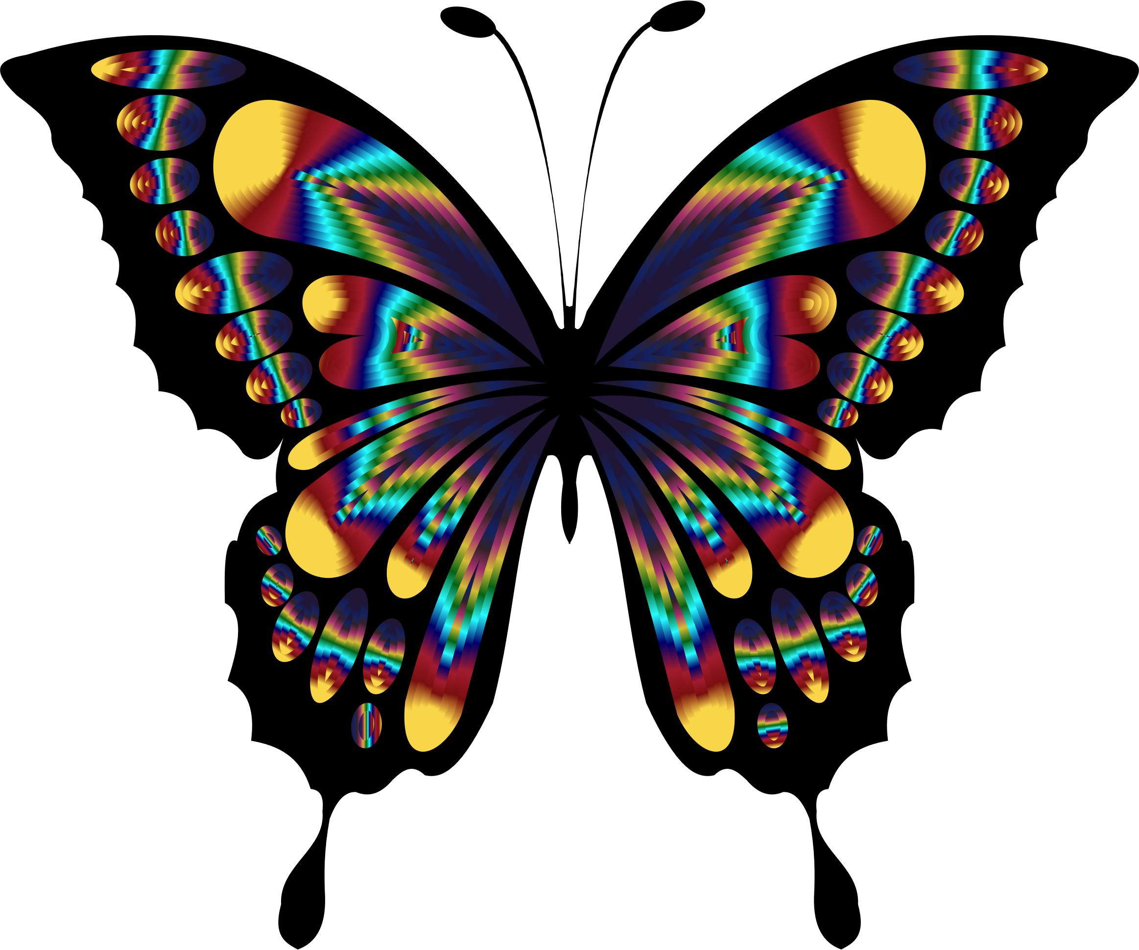 Prismatic Butterfly Remix 2 by GDJ