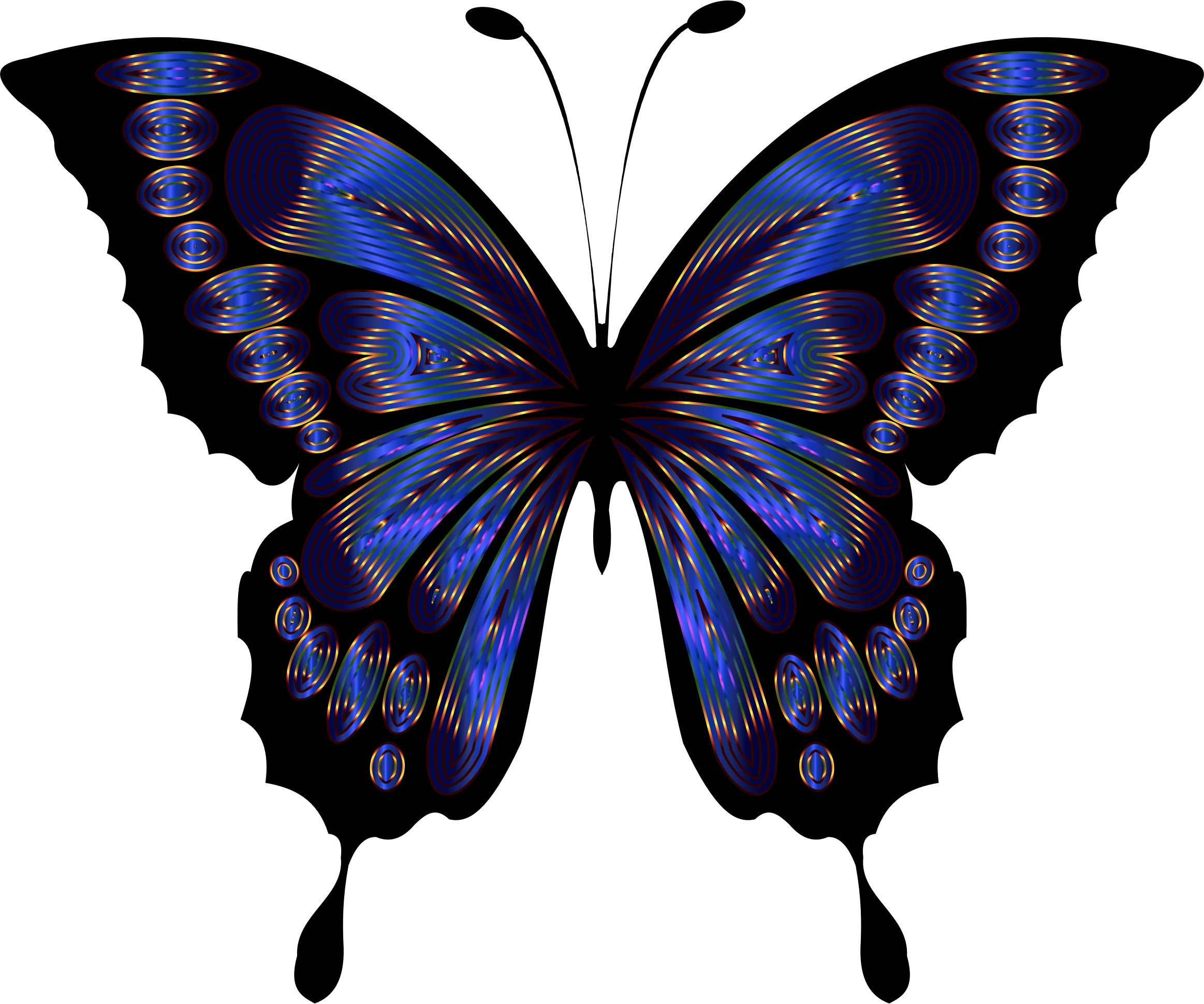 Prismatic Butterfly Remix 6 by GDJ