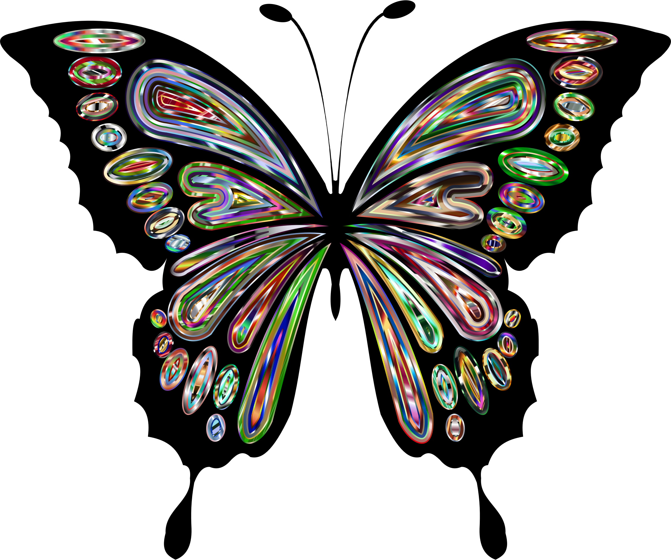 Prismatic Butterfly Remix 11 by GDJ
