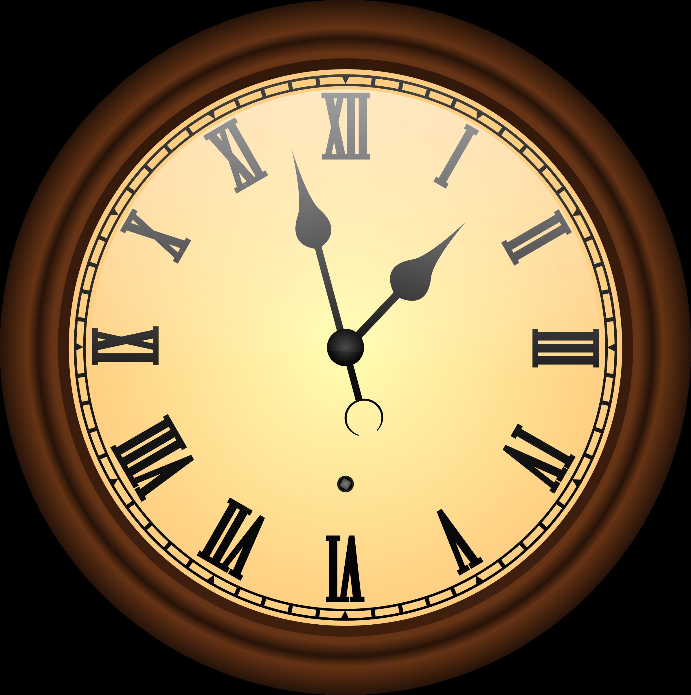 Флэш часы в старинном стиле для сайта