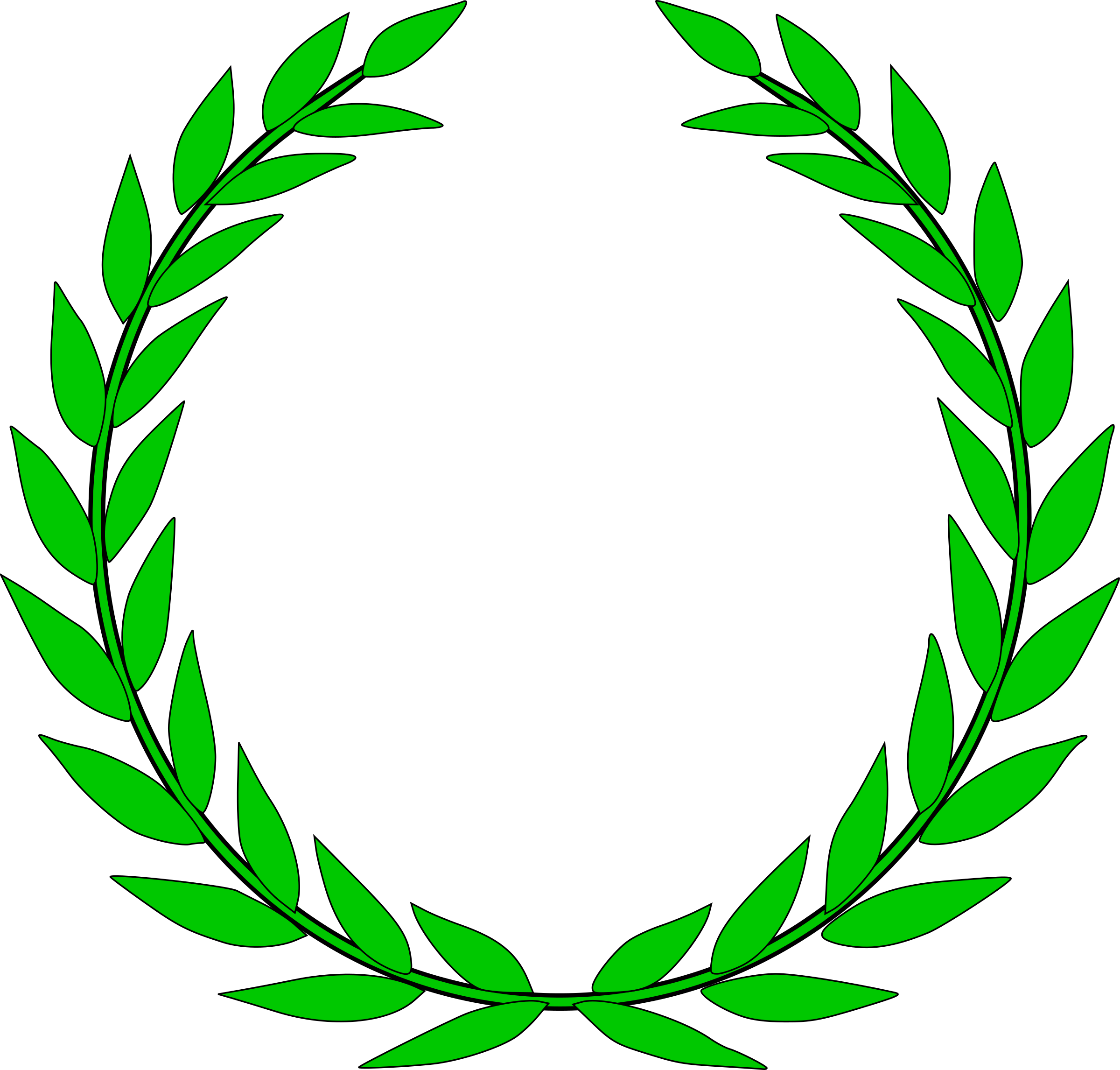 laurel wreath by rhysfaber