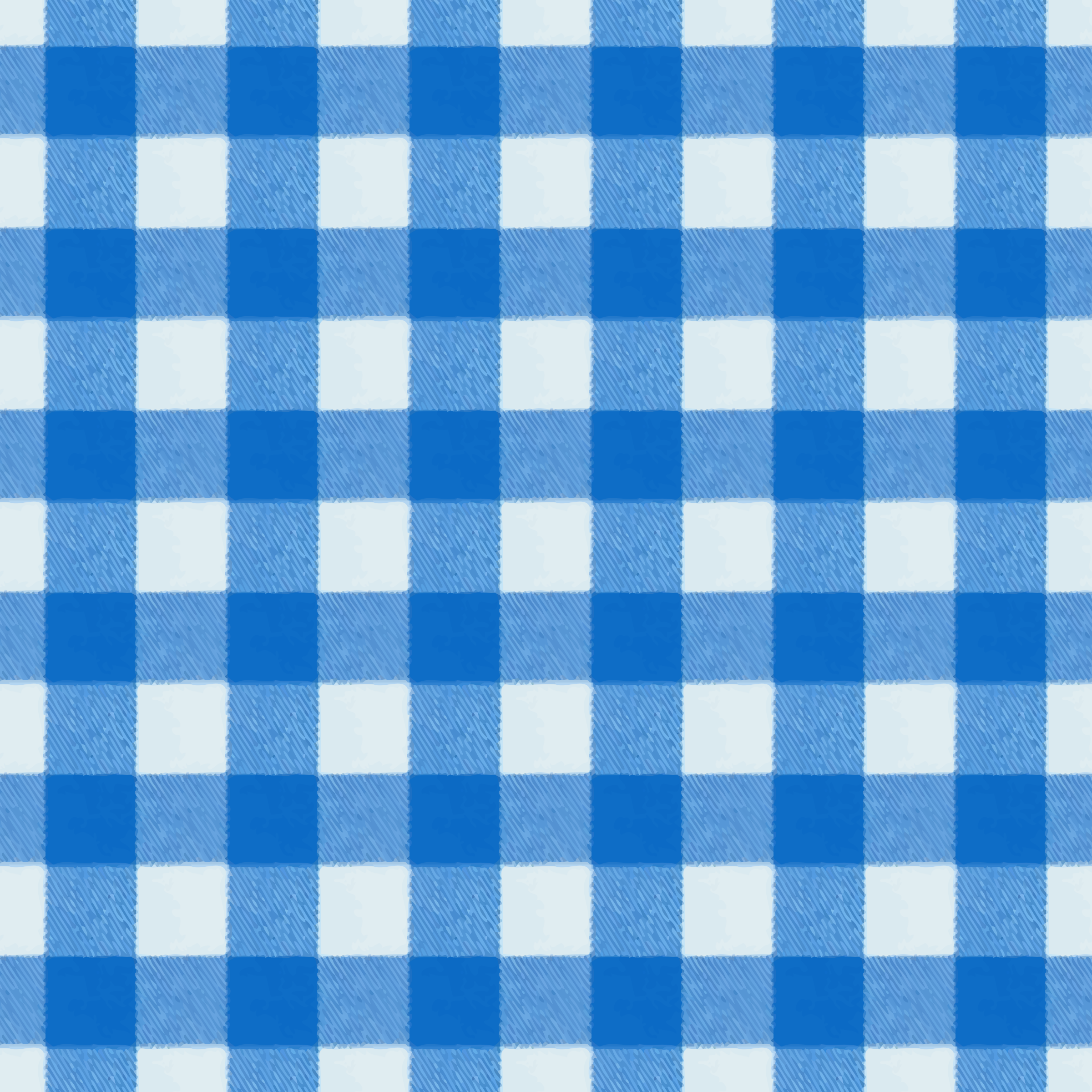 Chequered tablecloth by Firkin