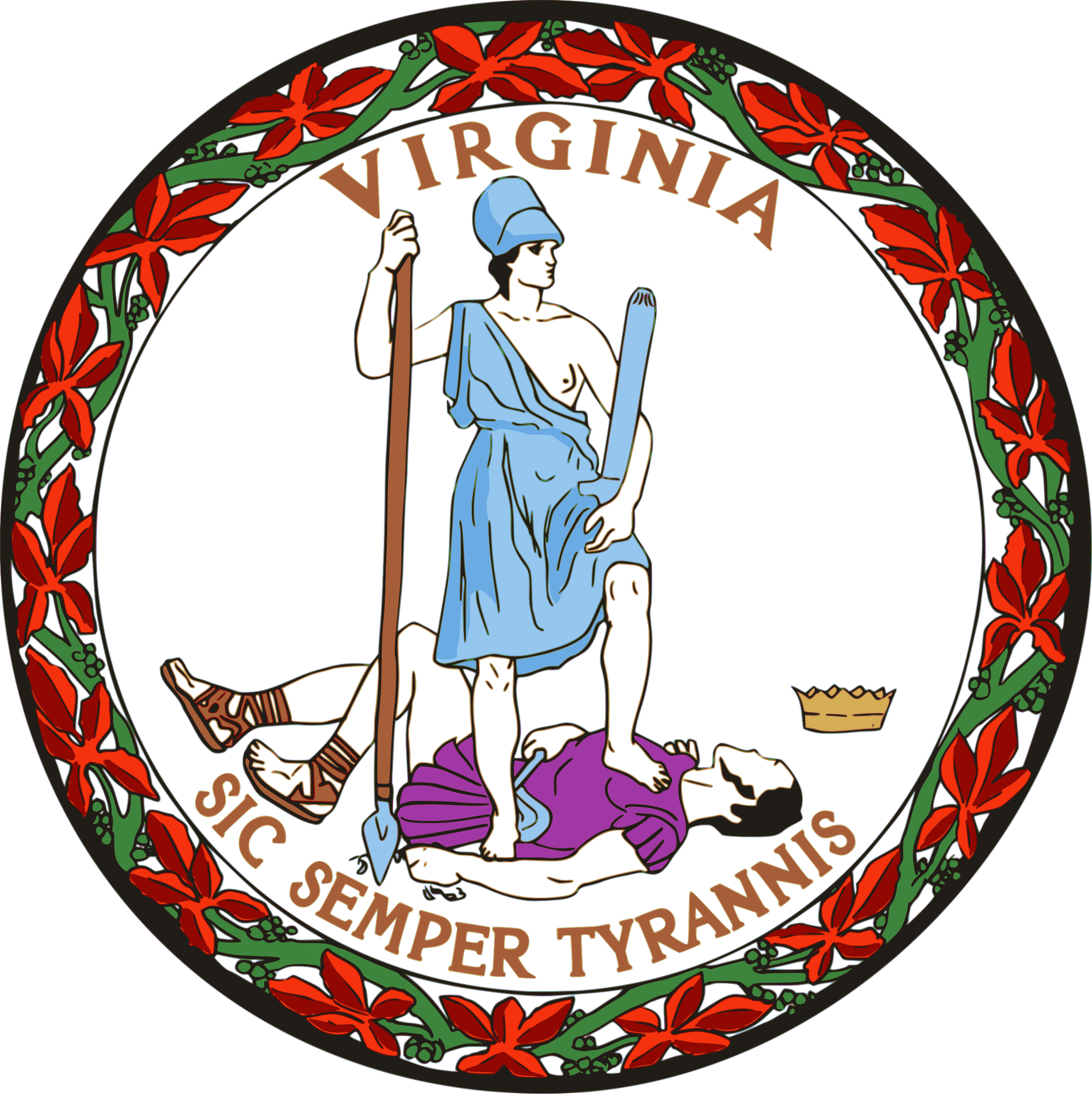 Seal of the Commonwealth of Virginia by tralbro