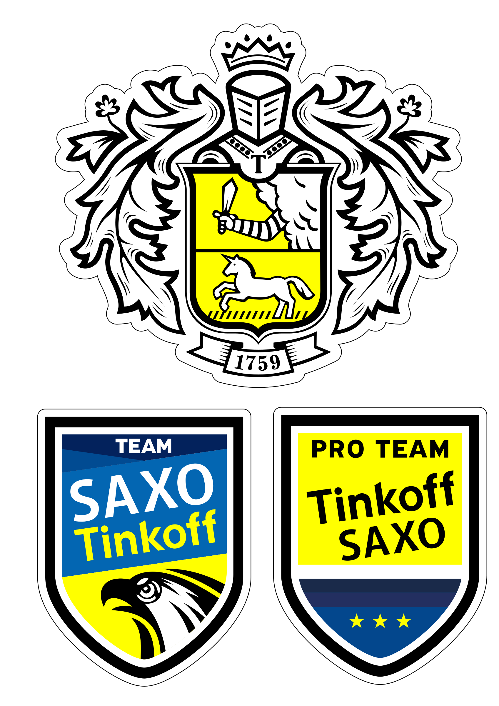 TeamSaxoTinkoff old-type by VoPo