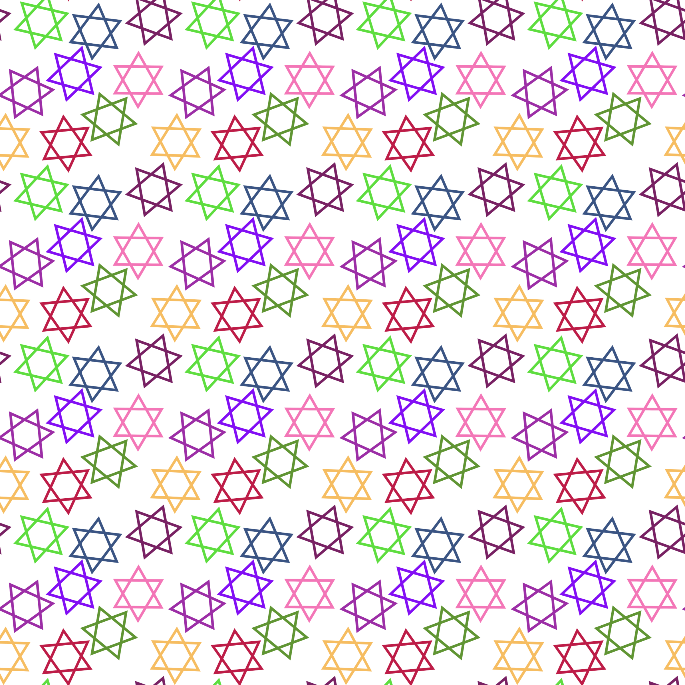 Star of David Pattern by Firkin