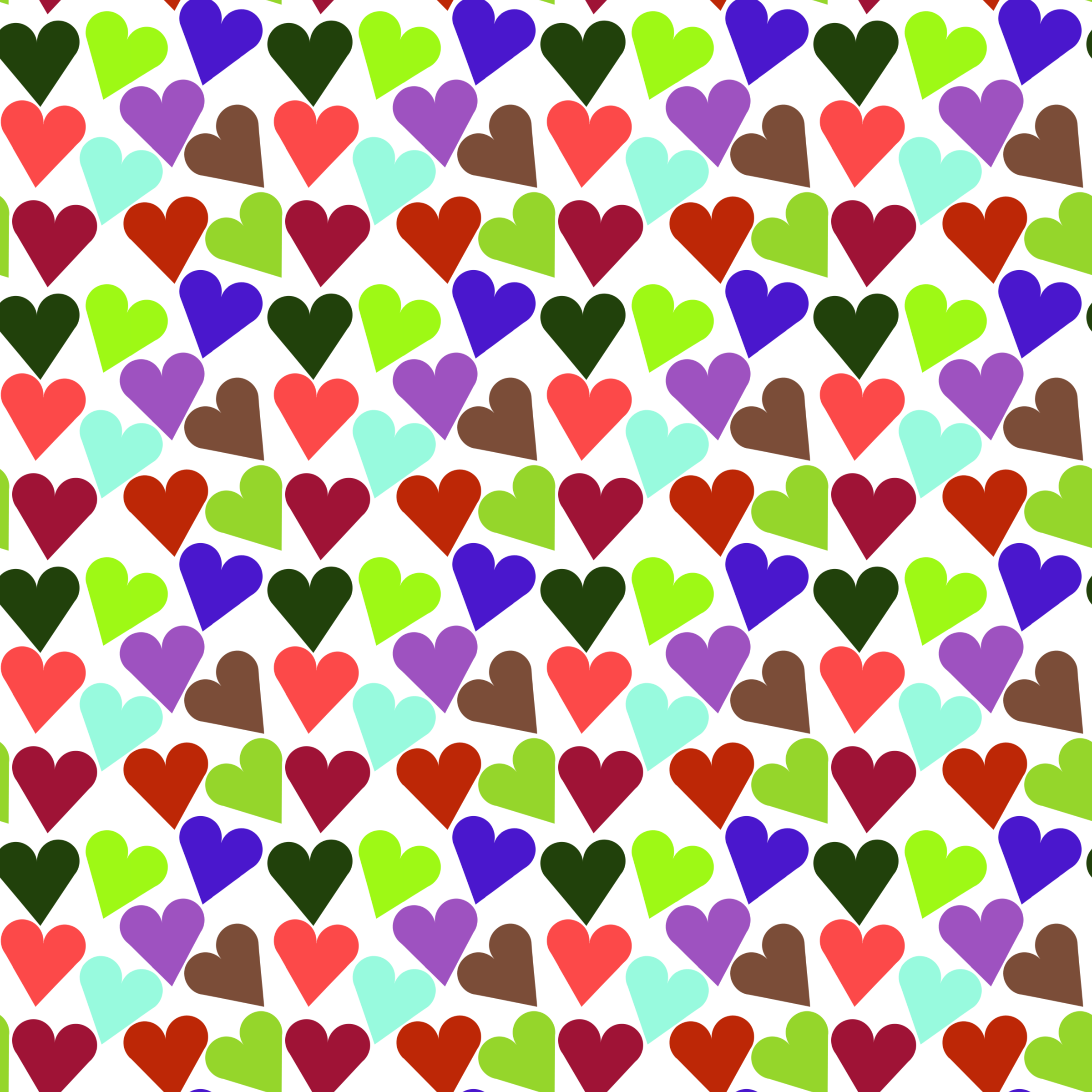 Heart pattern by Firkin