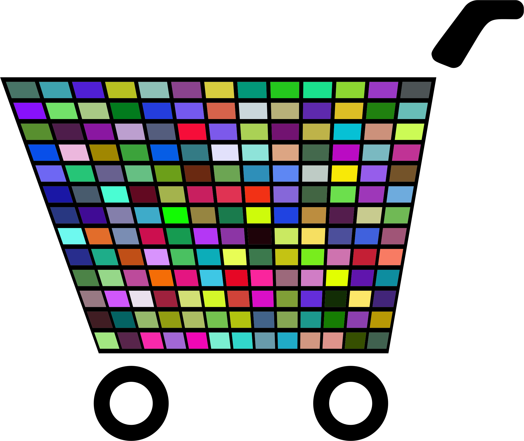 Prismatic Shopping Cart Icon 3 by GDJ