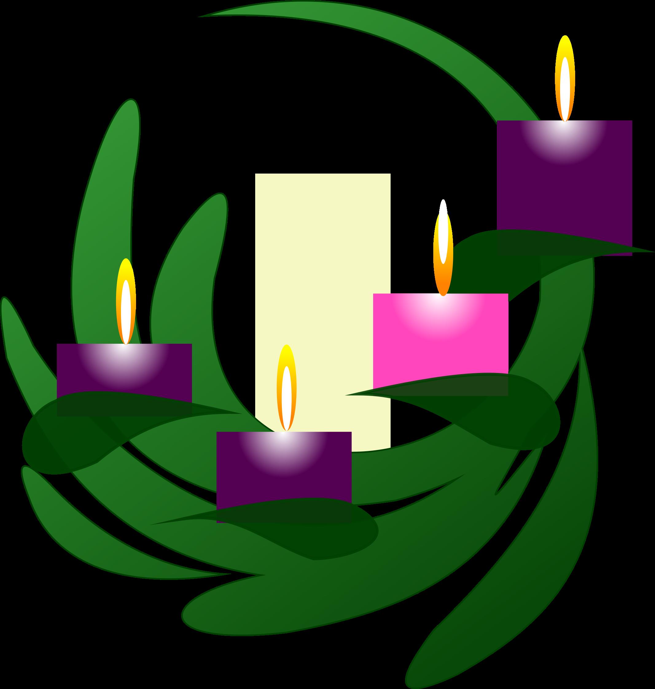 Advent 4 Wreath by PhilipBarrington