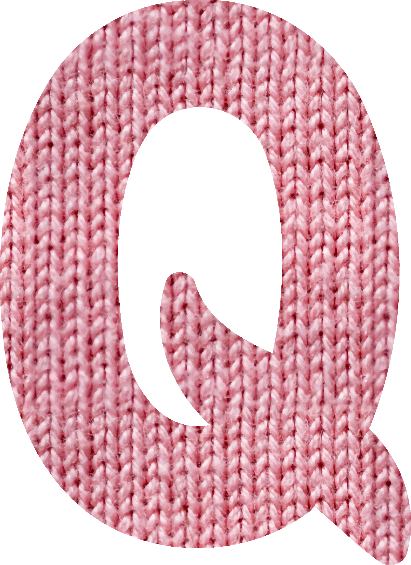 Woolly alphabet, Q by Firkin