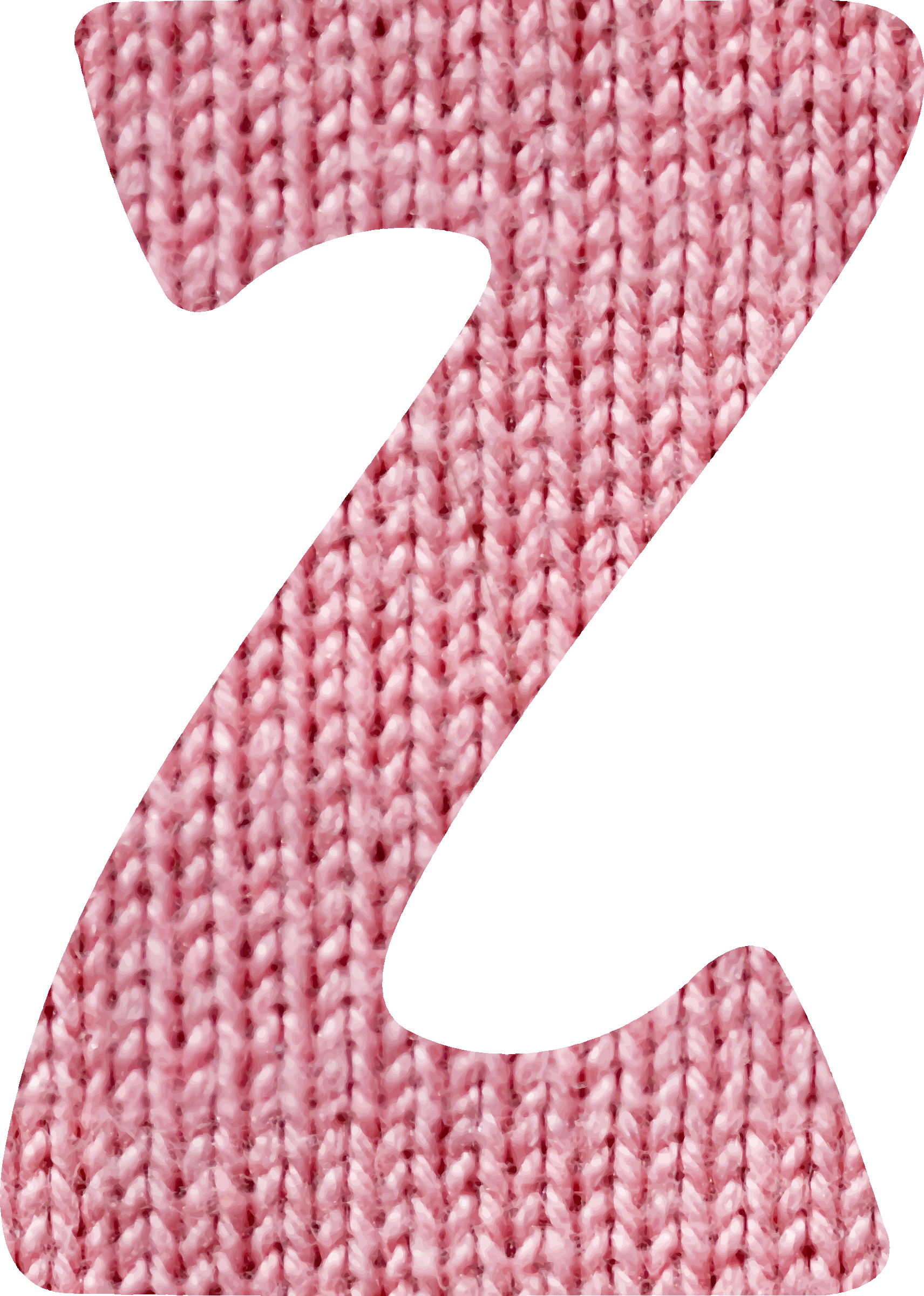 Woolly alphabet, Z by Firkin