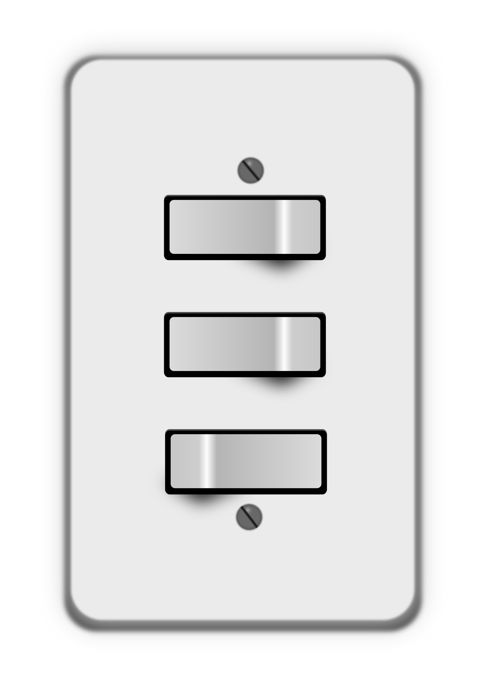 Light switch, 3 switches (two off) by lumbricus
