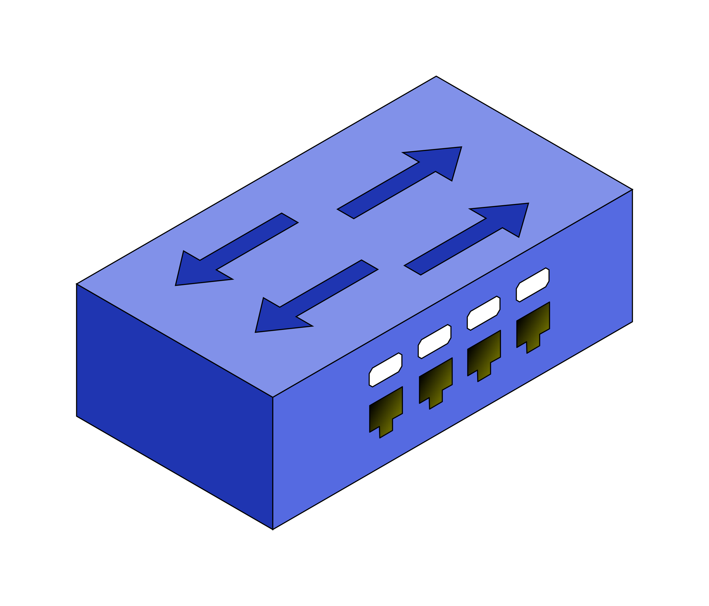 isometric switch by Fabuio