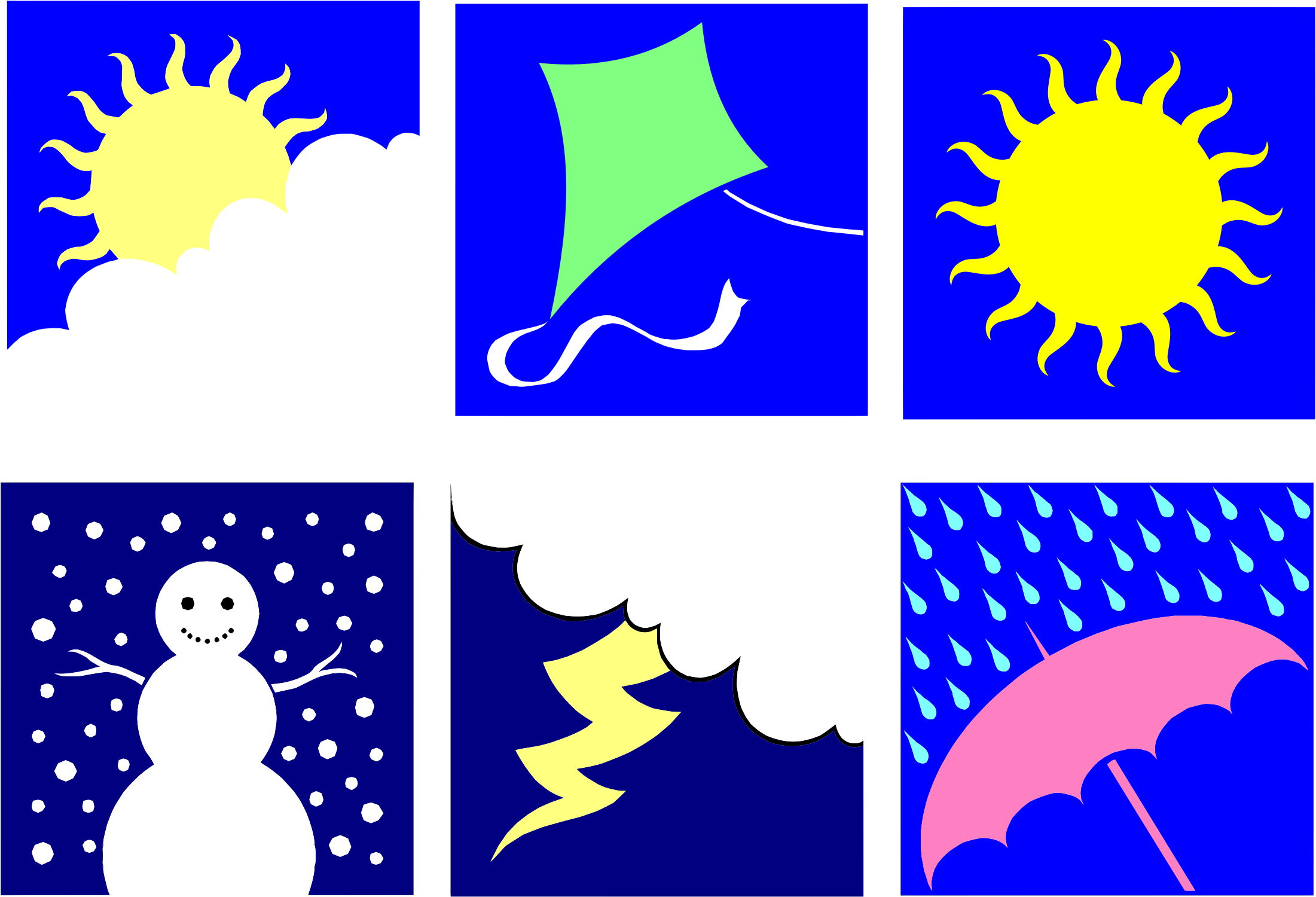 Weather Tiles by GDJ