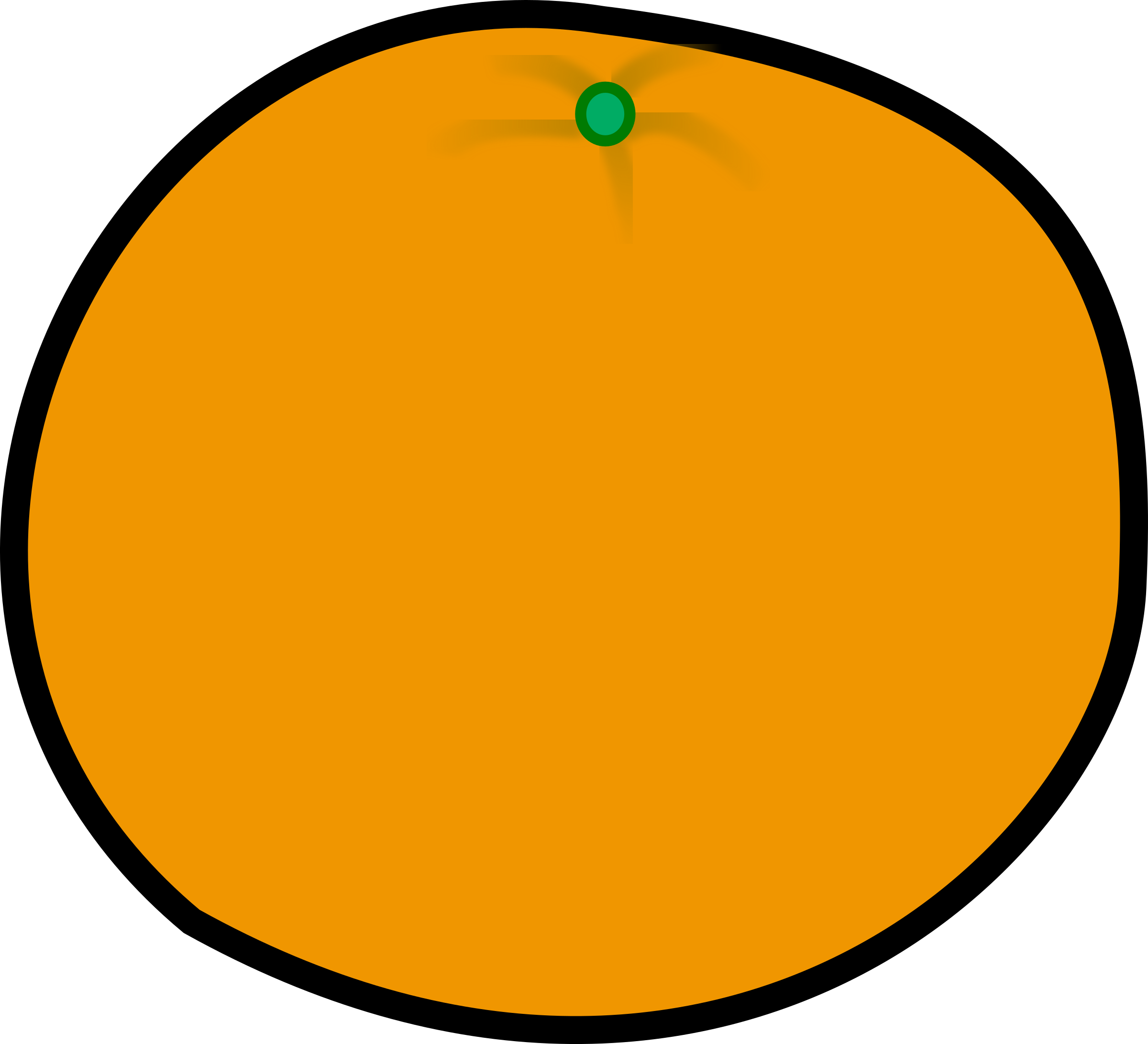 Simple orange by laobc