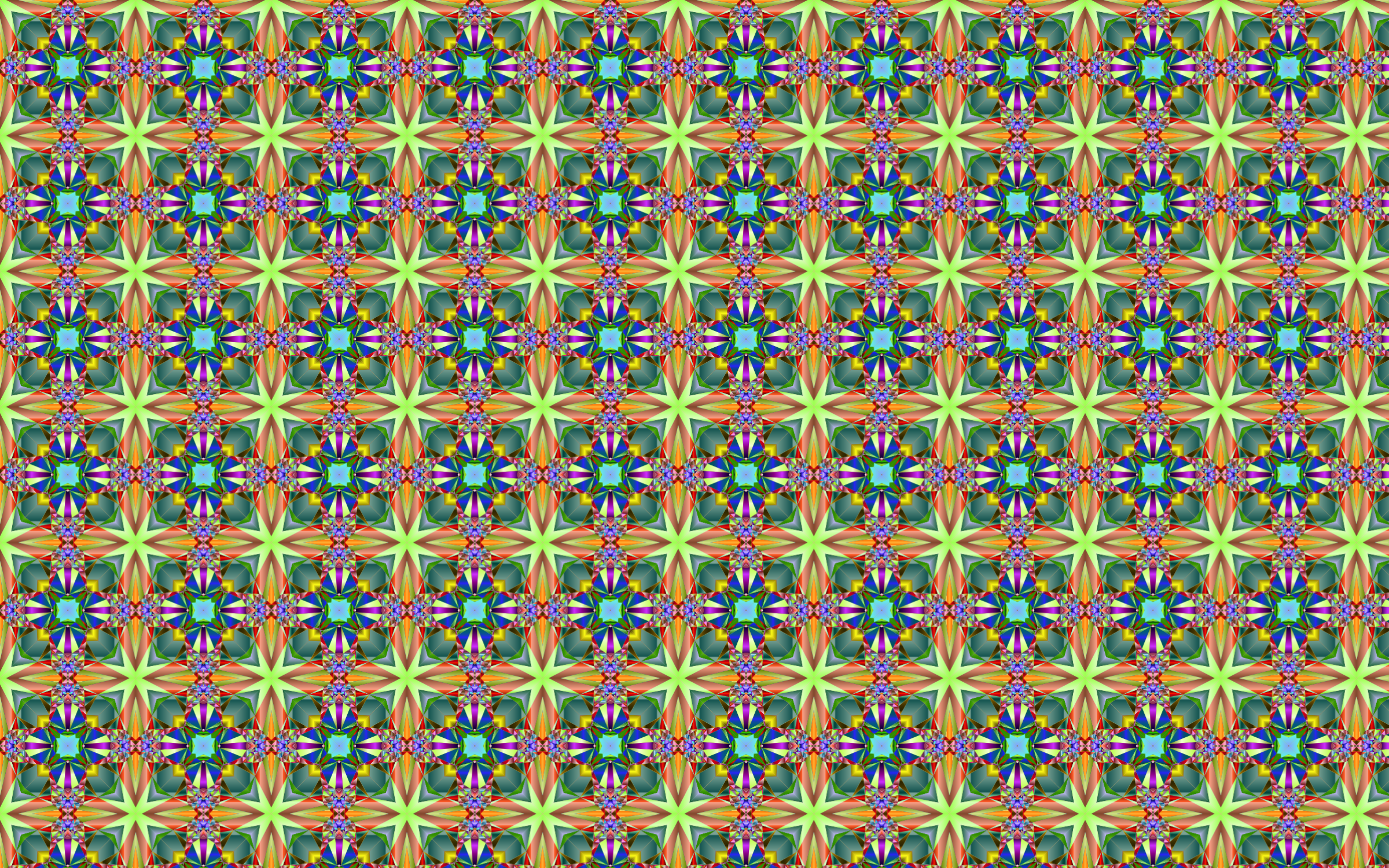 Seamless Psychedelic Pattern 4 by GDJ