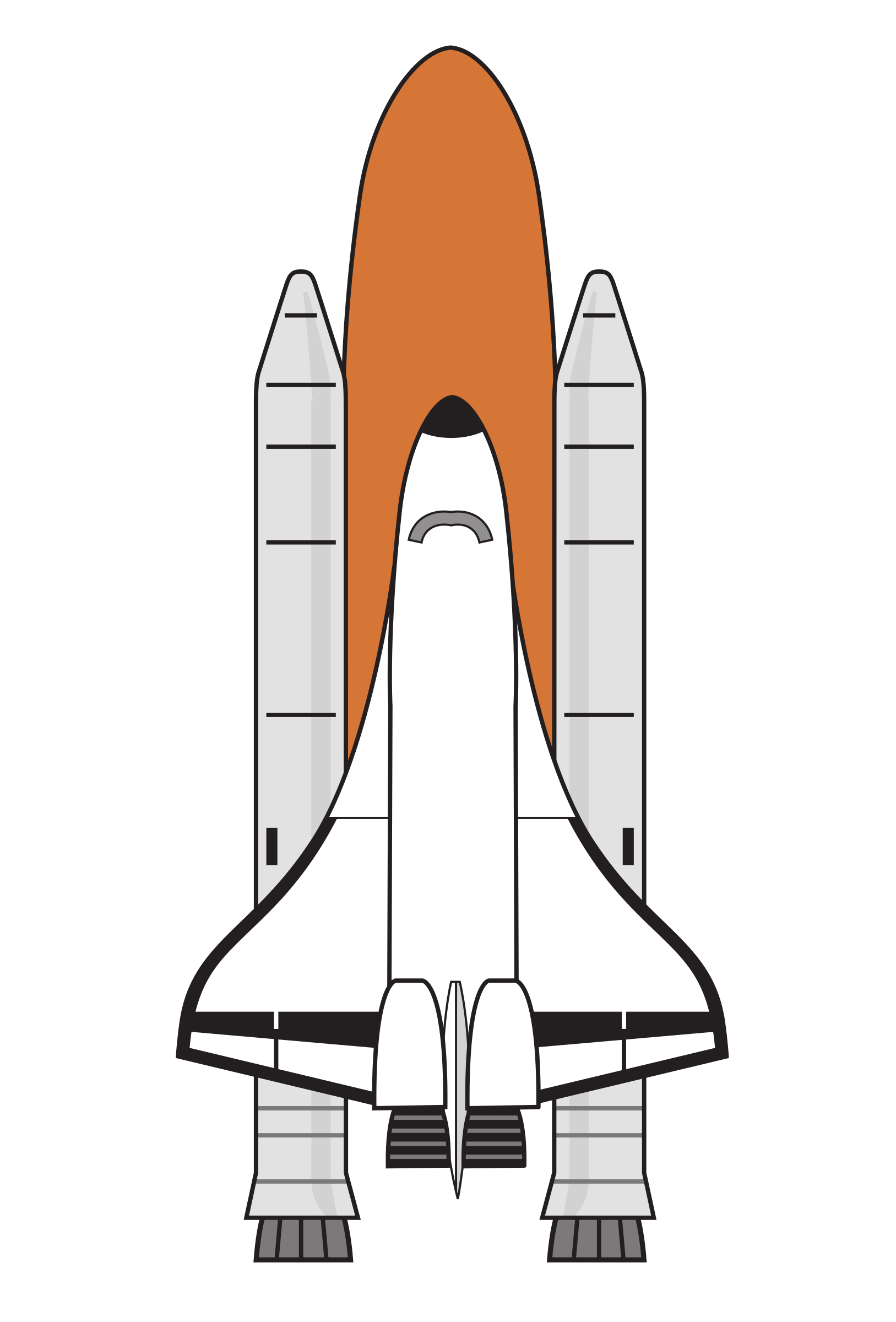 Shuttle Boosters Colour by j4p4n