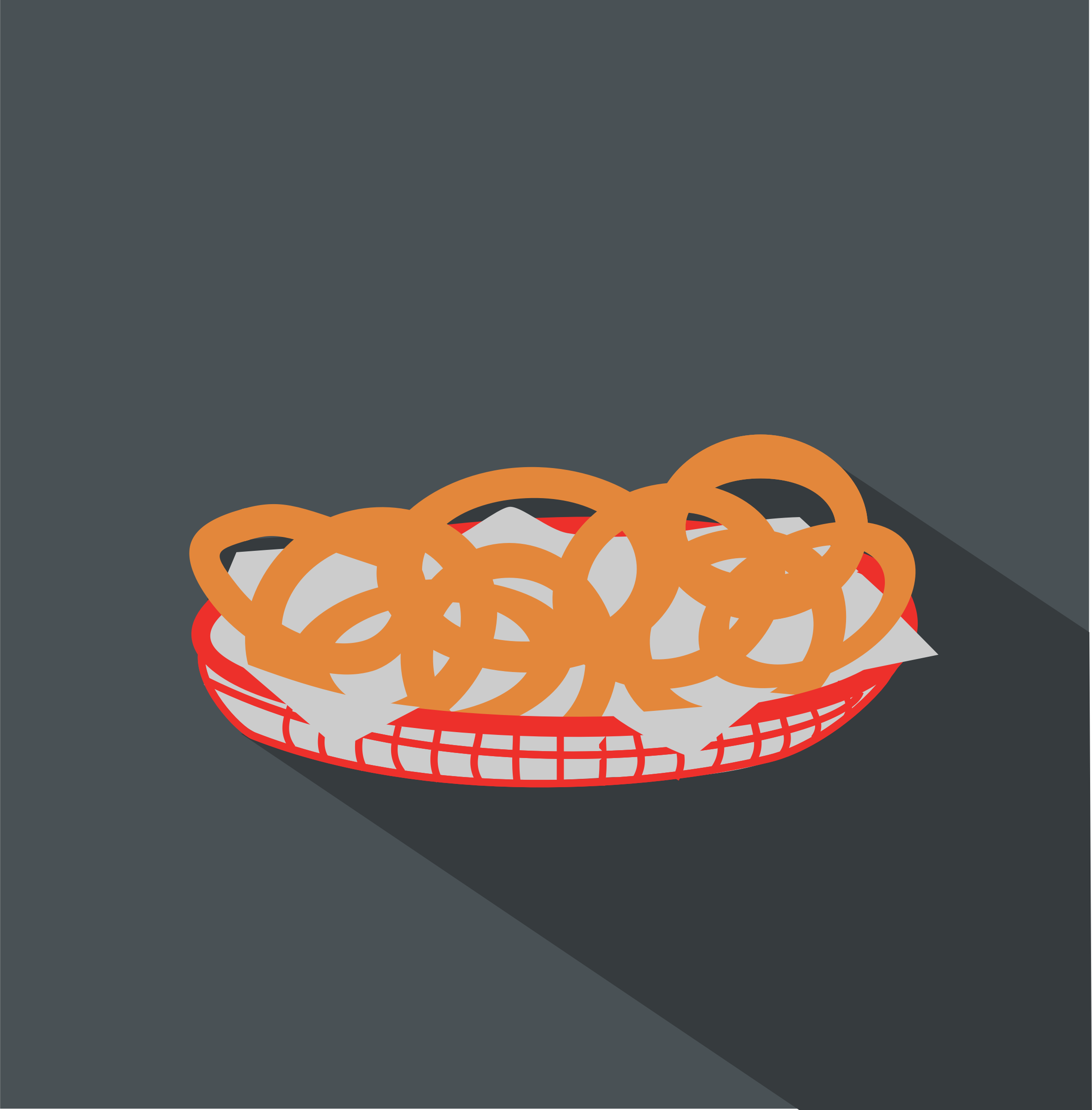 Onion-rings Icon by j4p4n