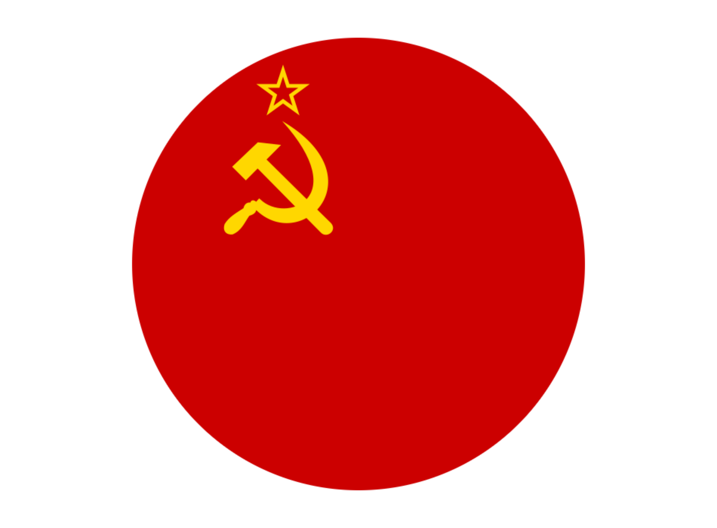 Flag USSR by alcofex