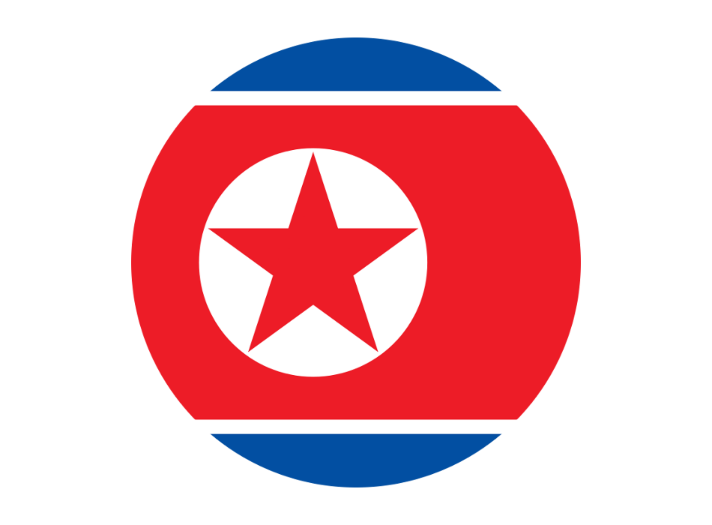 Flag North Korea by alcofex
