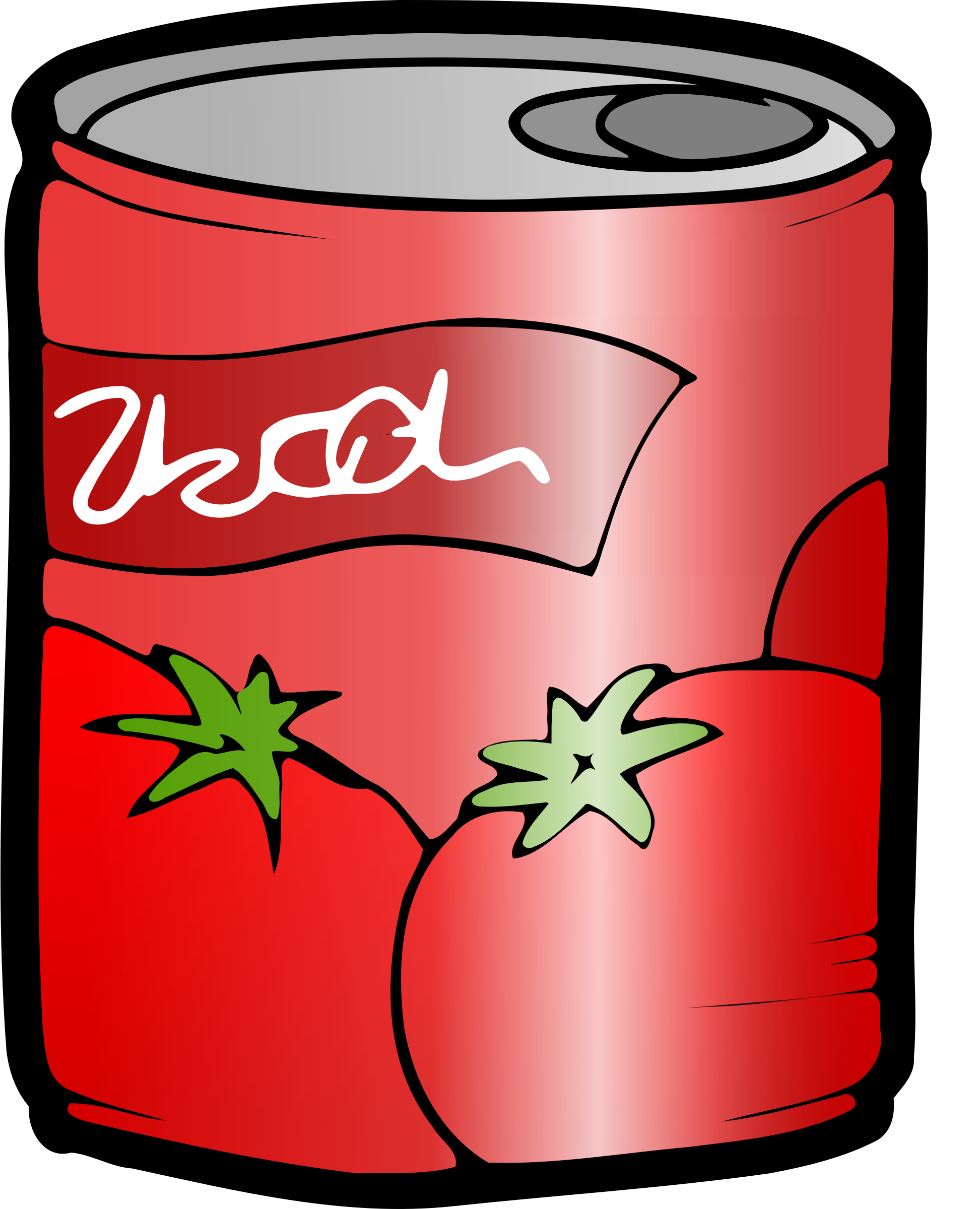 Can of Tomato Juice by j4p4n