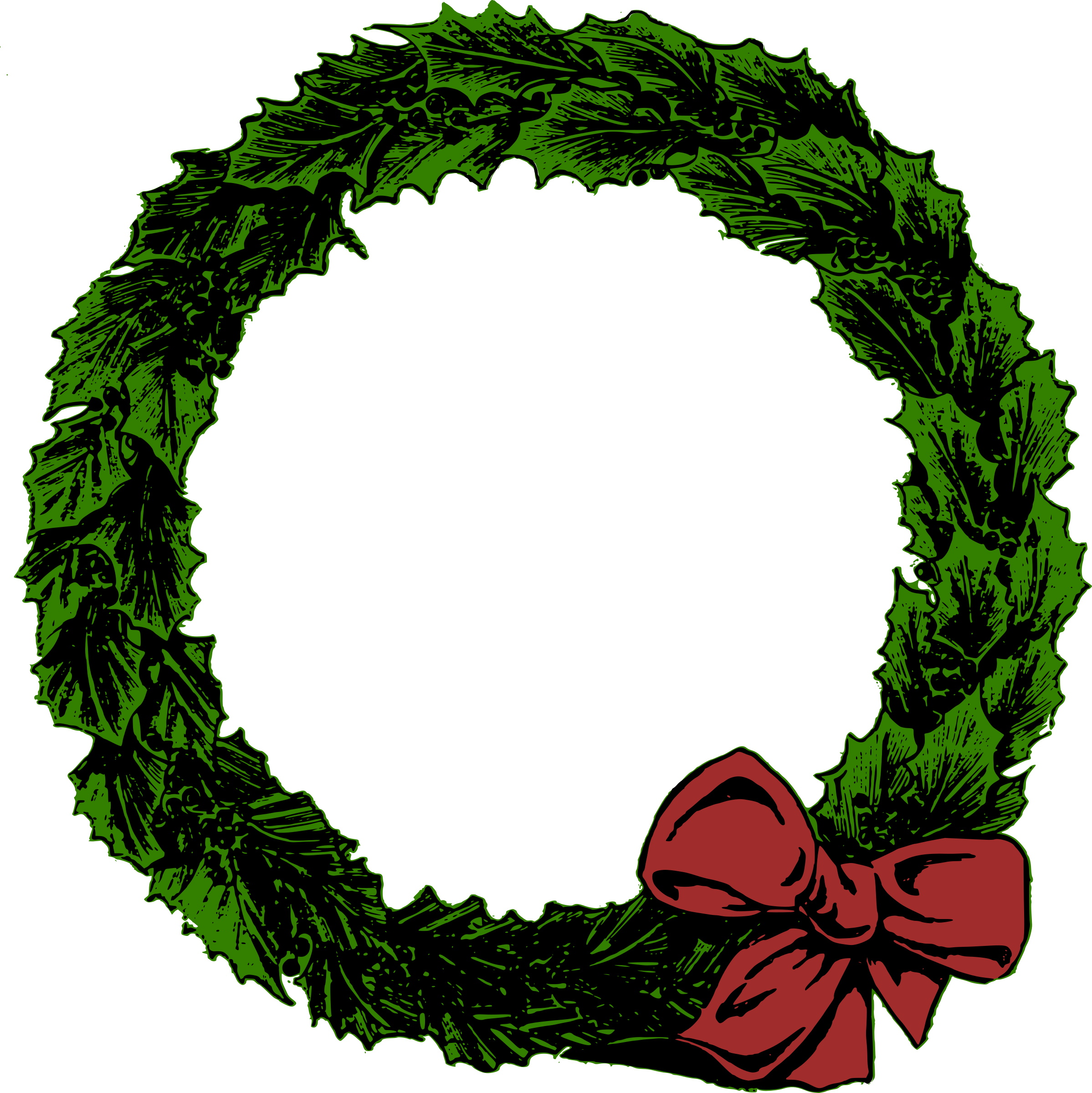 Xmas Wreath by j4p4n