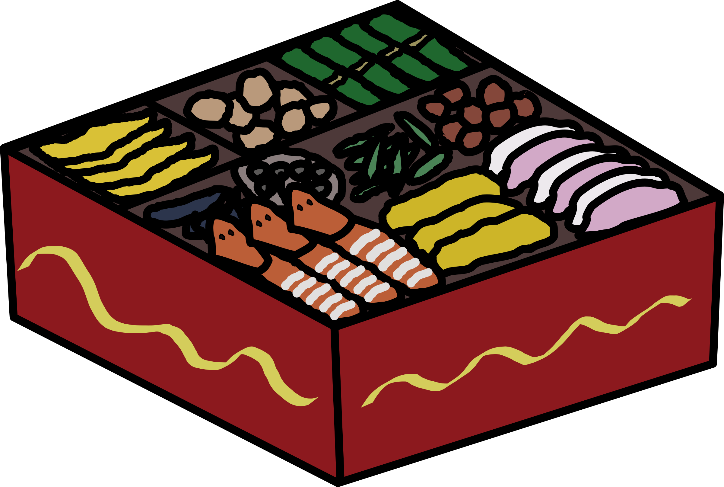 Osechi Food by j4p4n