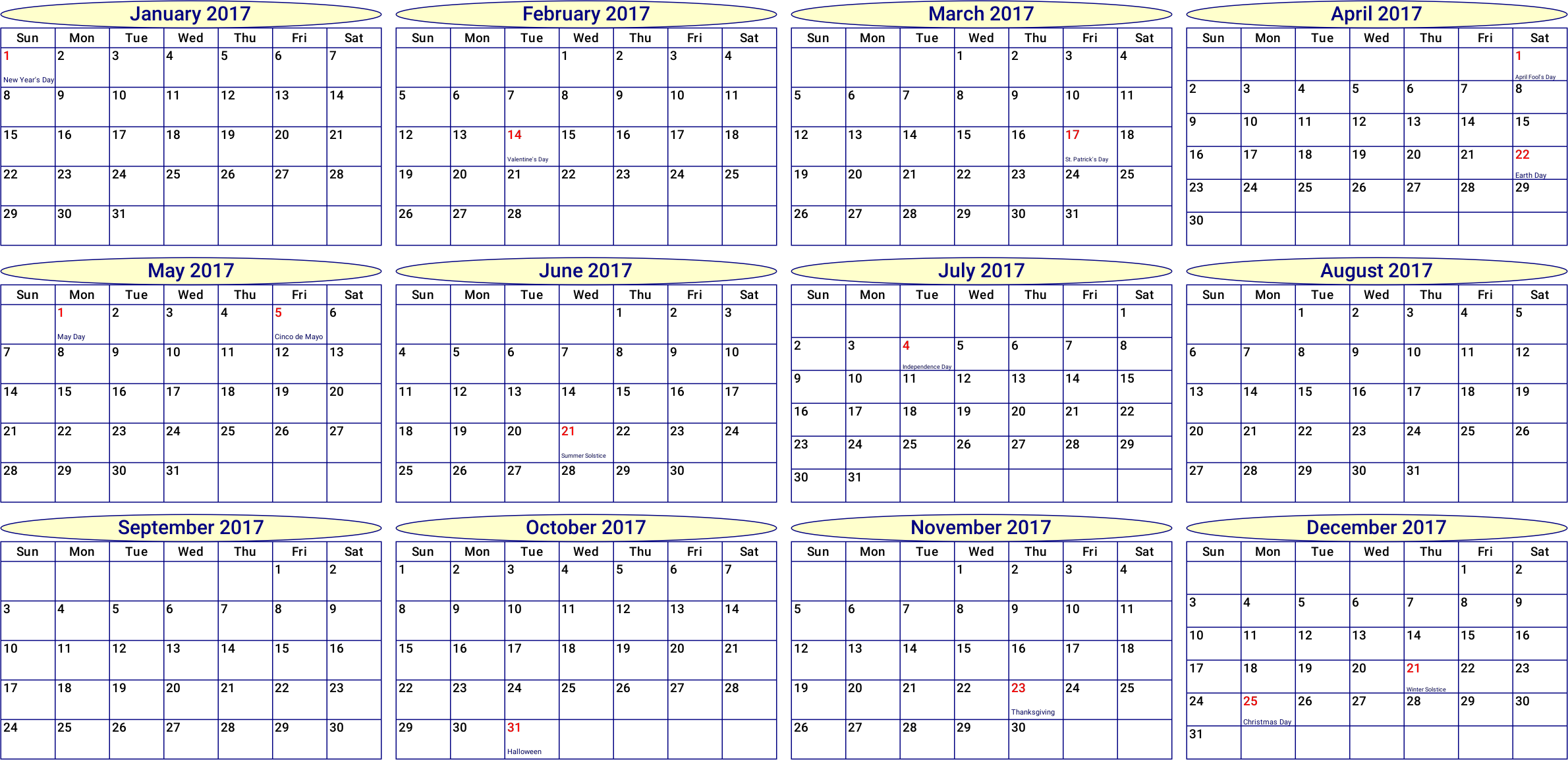 Calendar By Month : Clipart year month calendar