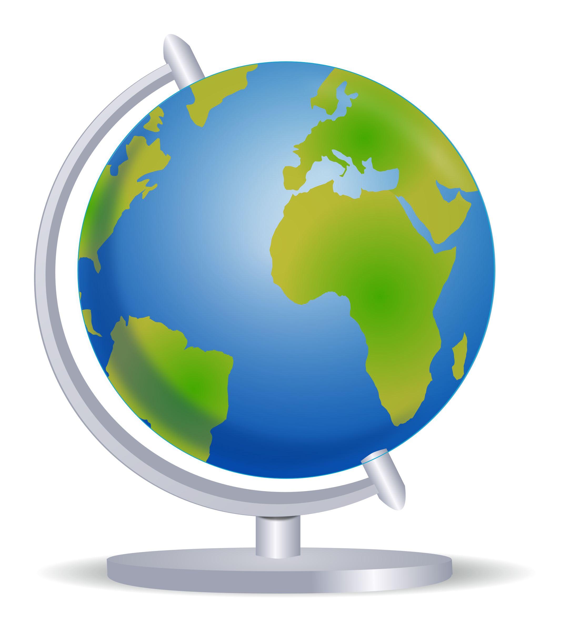 clipart globe on stand rh openclipart org clipart globe satellite clip art global map
