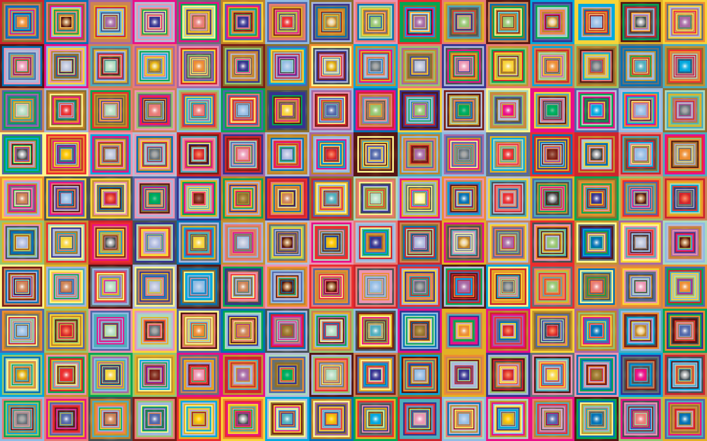Retro Squares Background 2 by GDJ