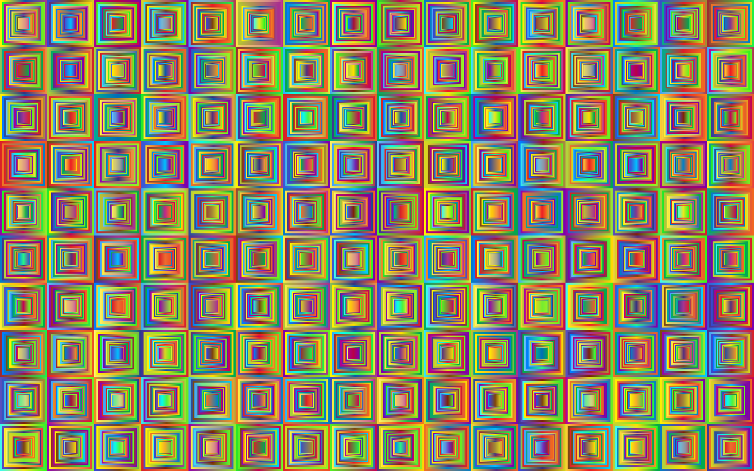 Retro Squares Background 3 by GDJ