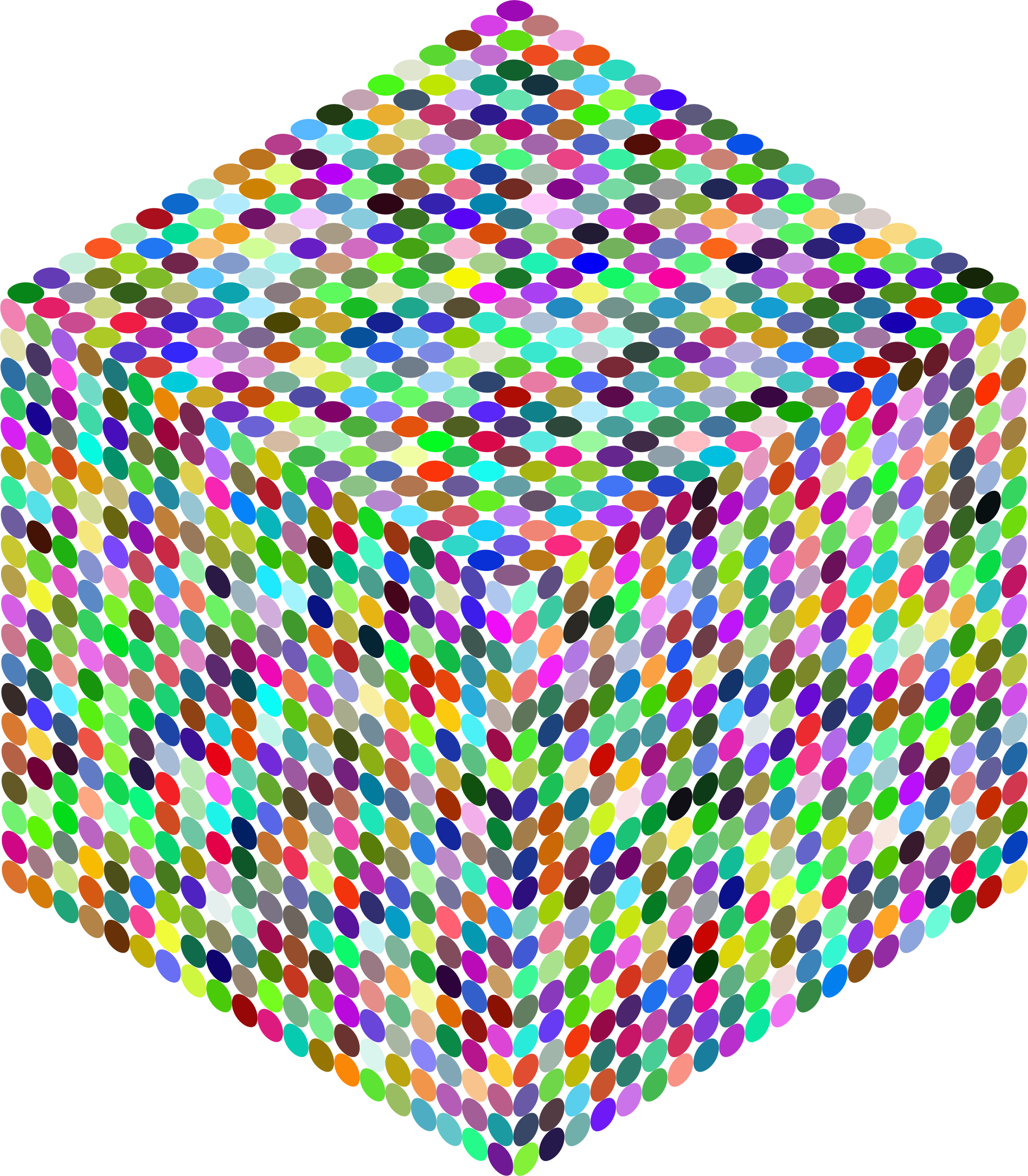Prismatic Isometric Circles Cube 2 by GDJ